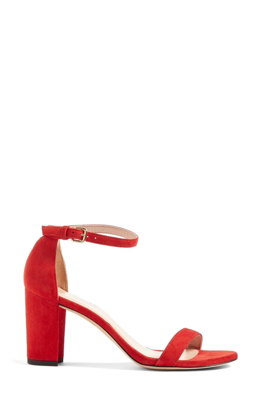 Alternate Image 4  - Stuart Weitzman NearlyNude Ankle Strap Sandal (Women)