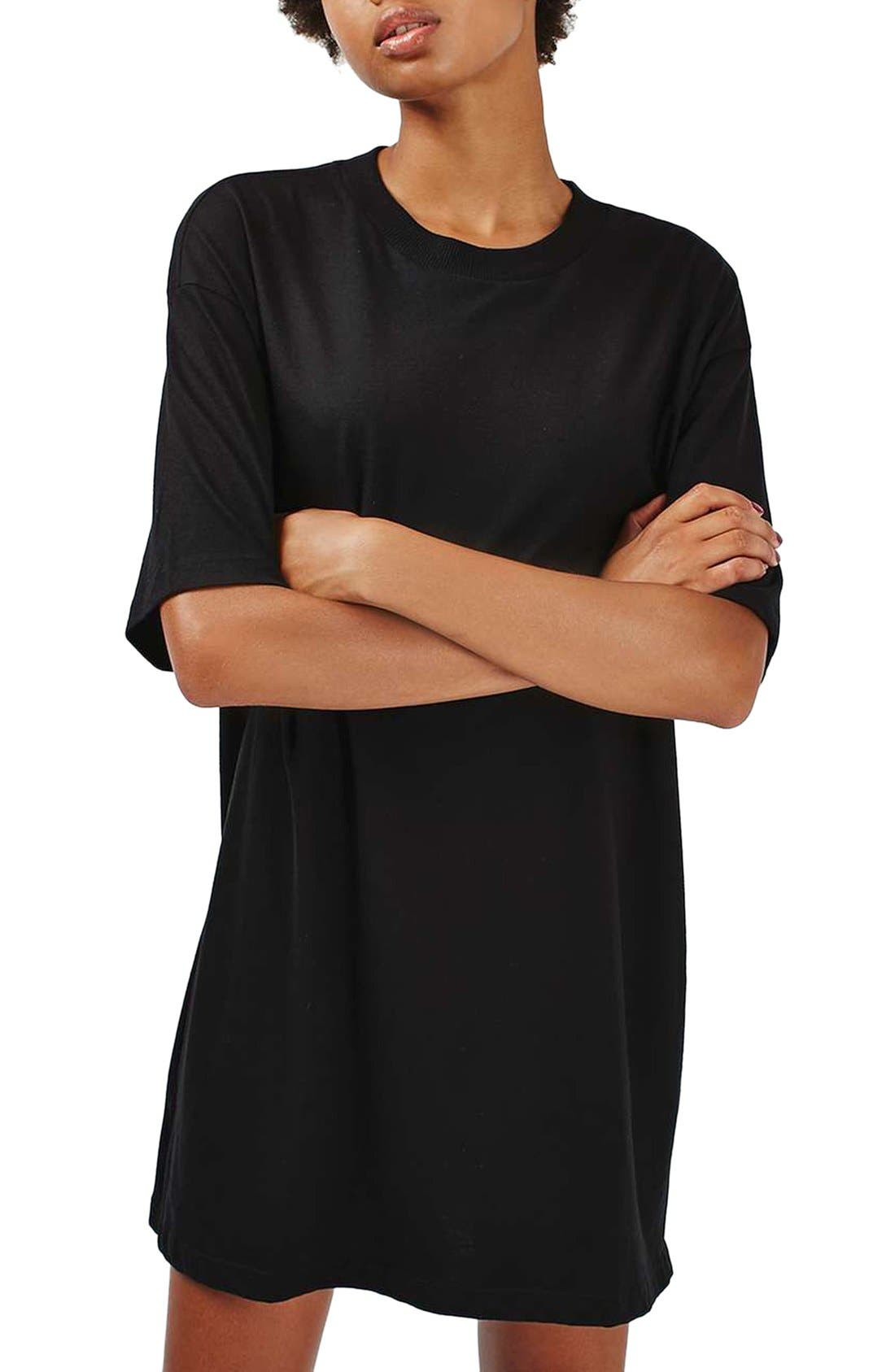 Alternate Image 1 Selected - Topshop Tunic Tee