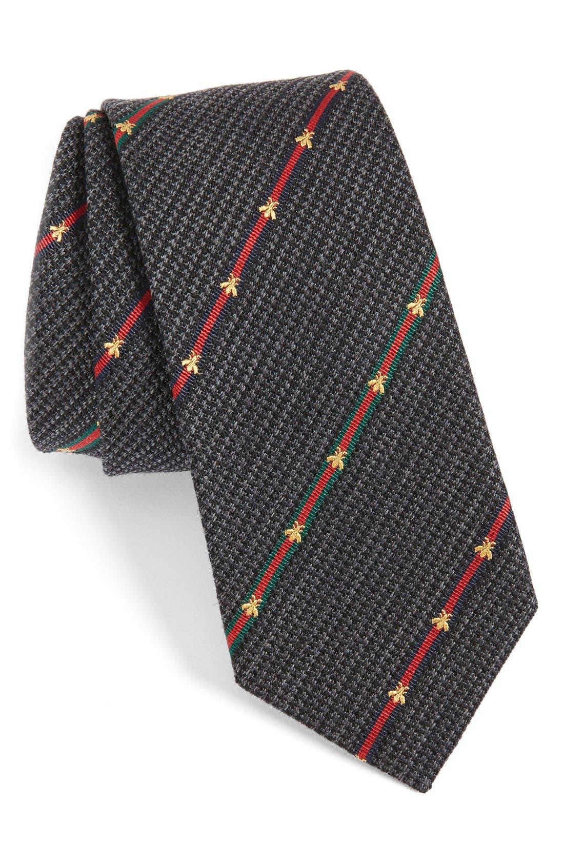 Gucci Savanur Silk & Wool Tie