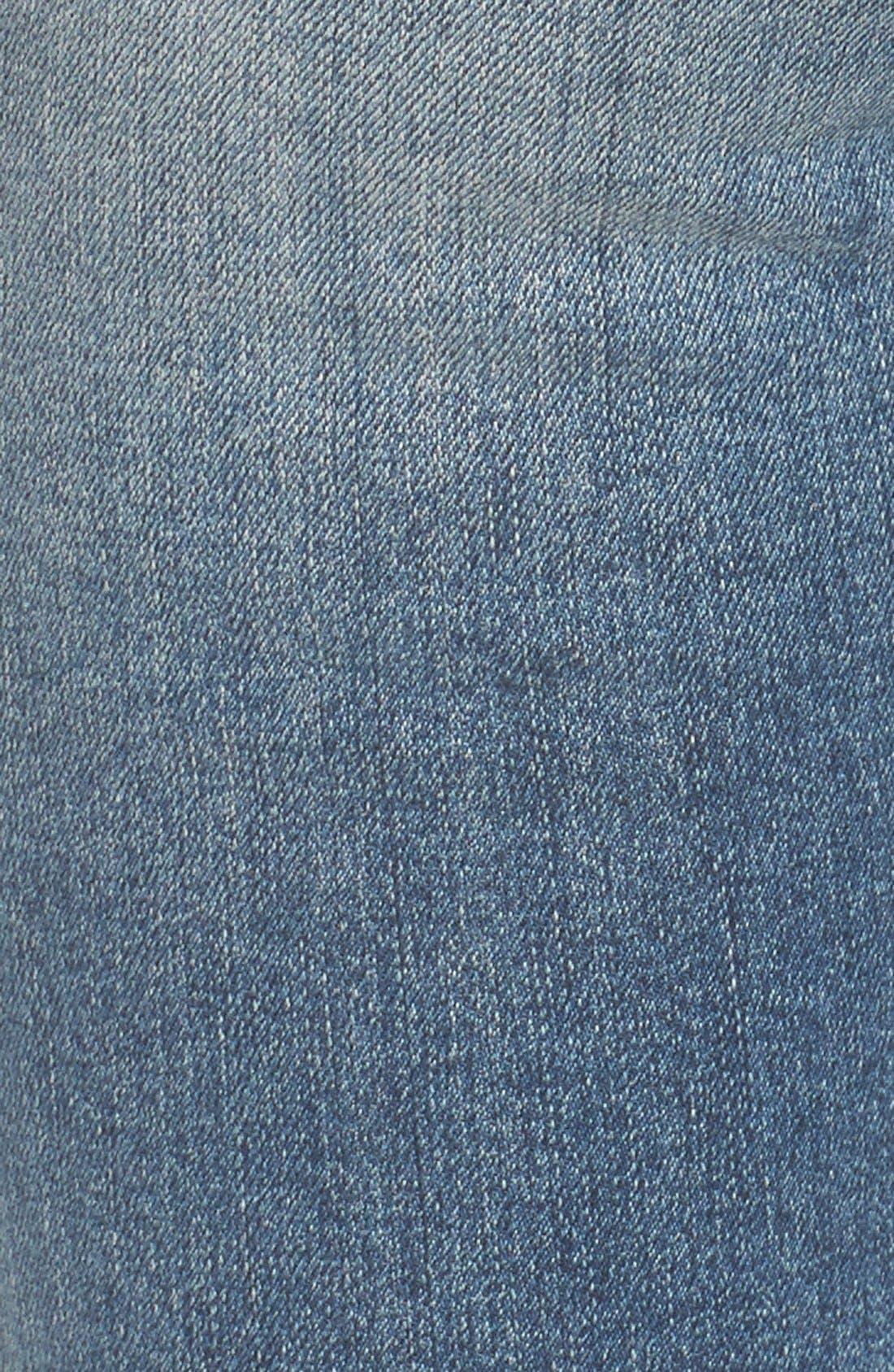 Alternate Image 6  - STS Blue Piper Athletic Stripe Skinny Jeans (West Oakville)