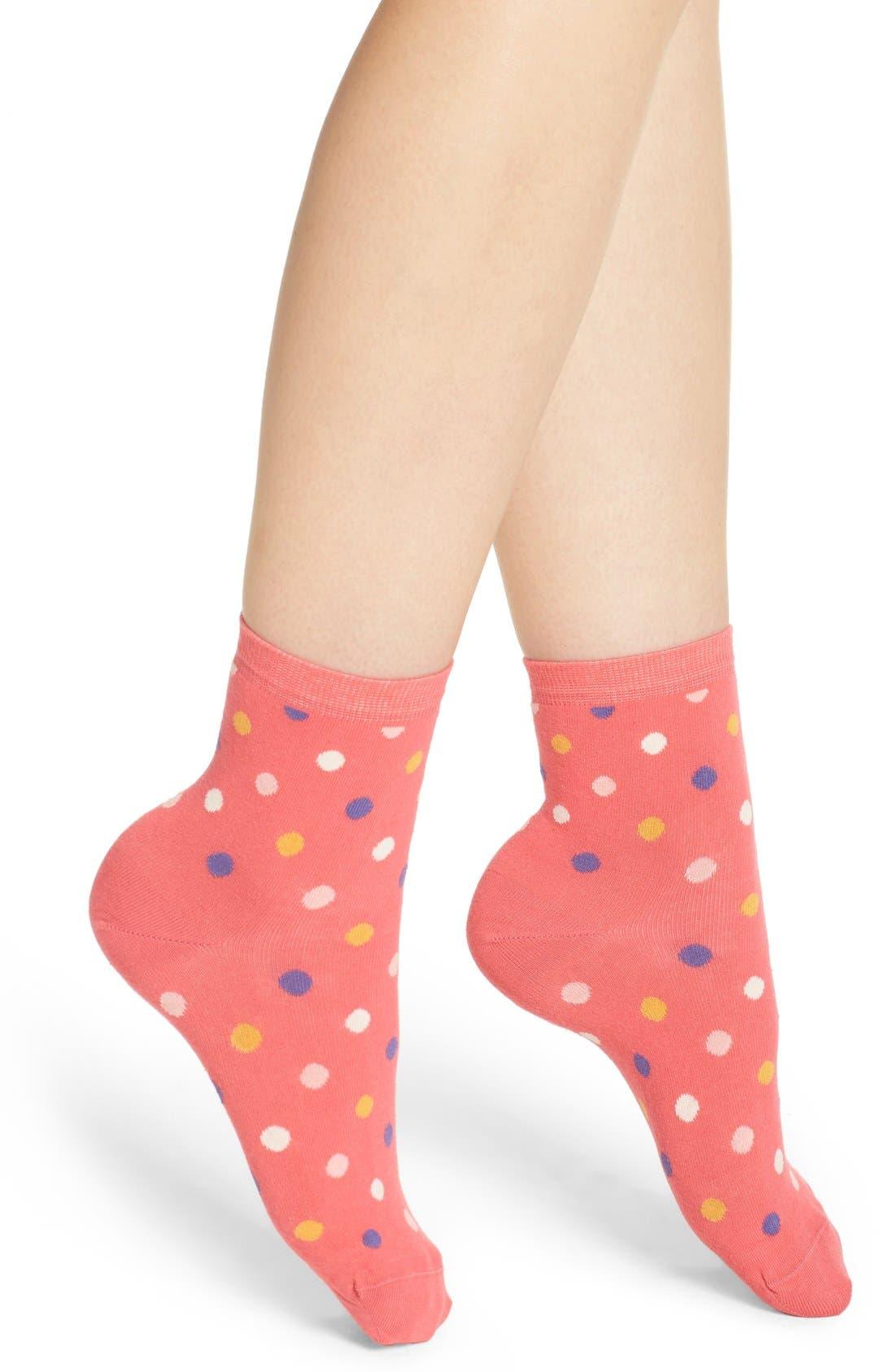 HAPPY SOCKS Polka Dot Crew Socks