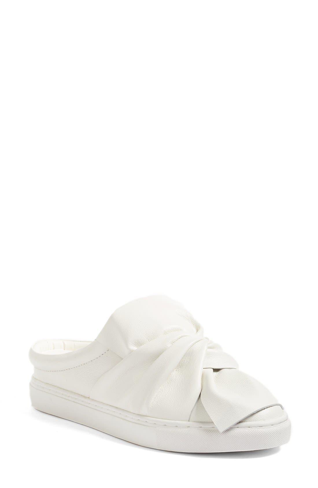 Alternate Image 1 Selected - Halogen® Manny Knotted Slip-On Sneaker (Women)