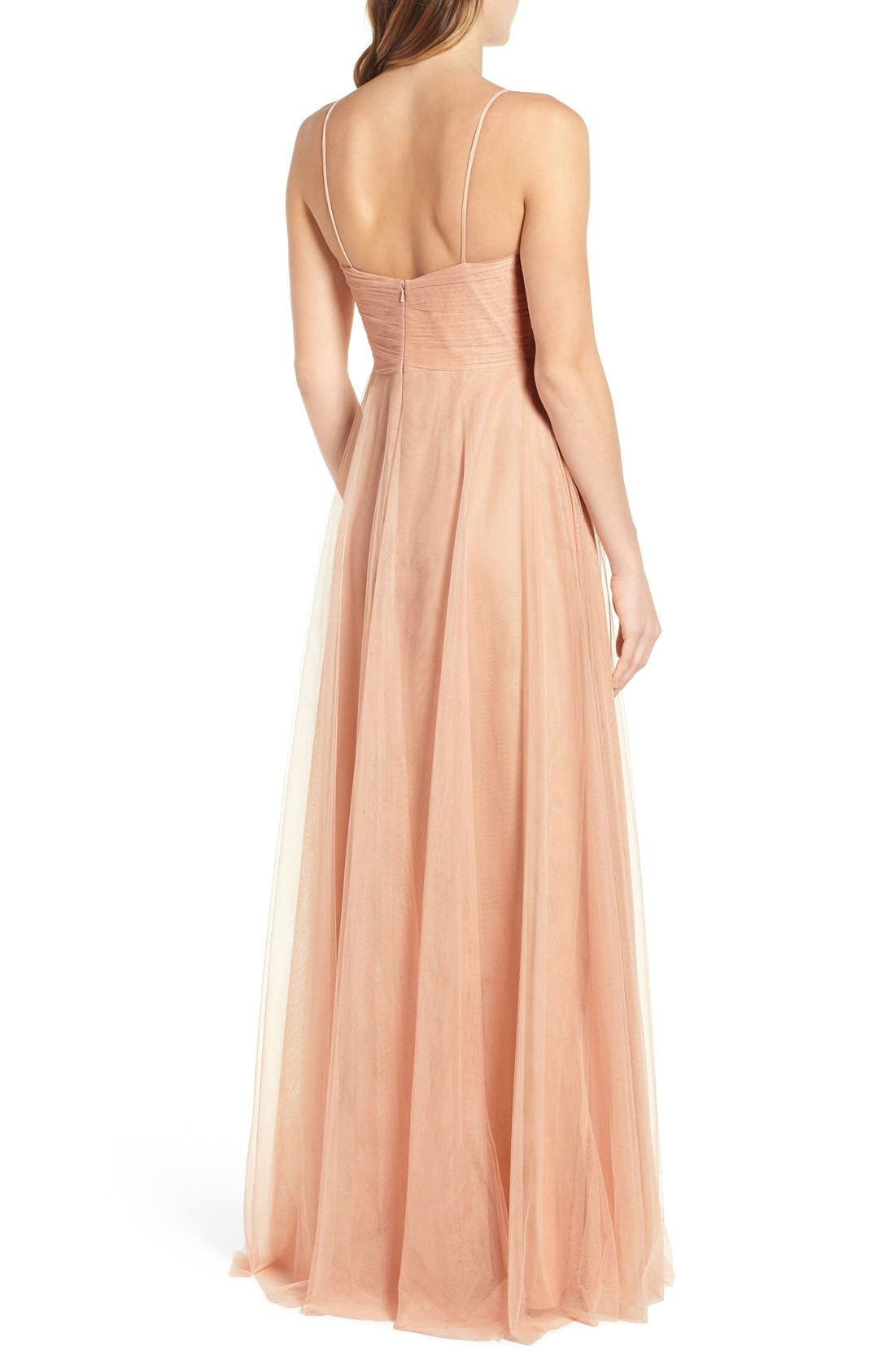 Alternate Image 3  - Jenny Yoo Brielle Tulle Gown