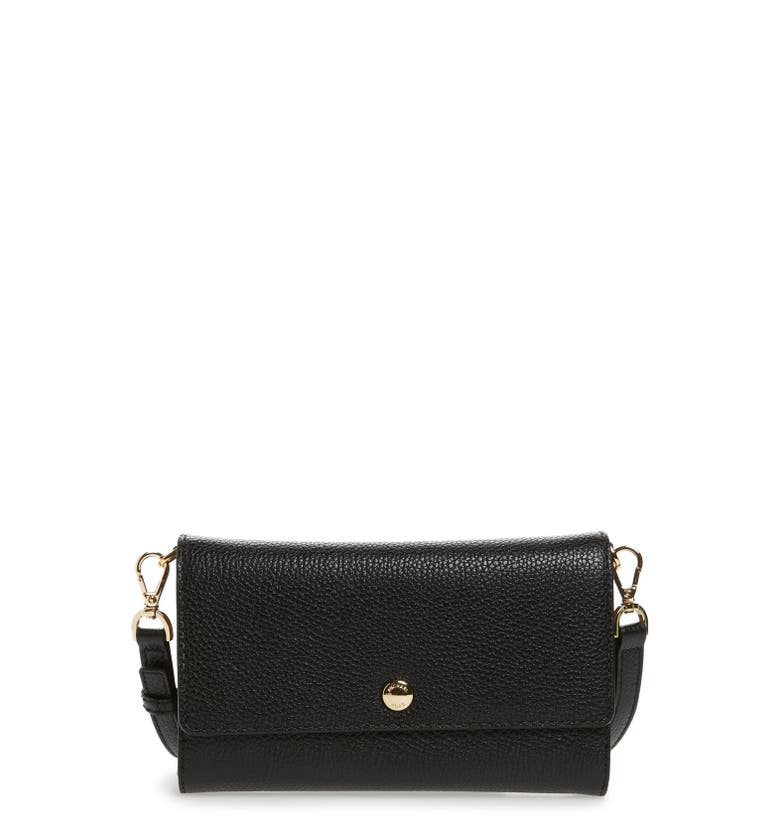 michael michael kors small mercer leather crossbody wallet