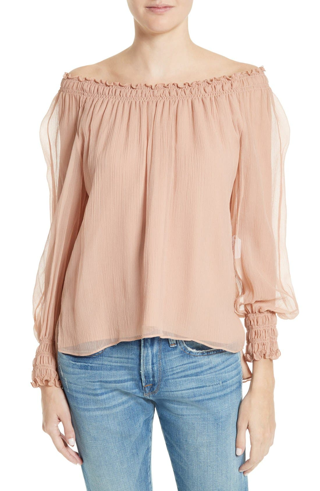 ELIZABETH AND JAMES Michela Off the Shoulder Blouse