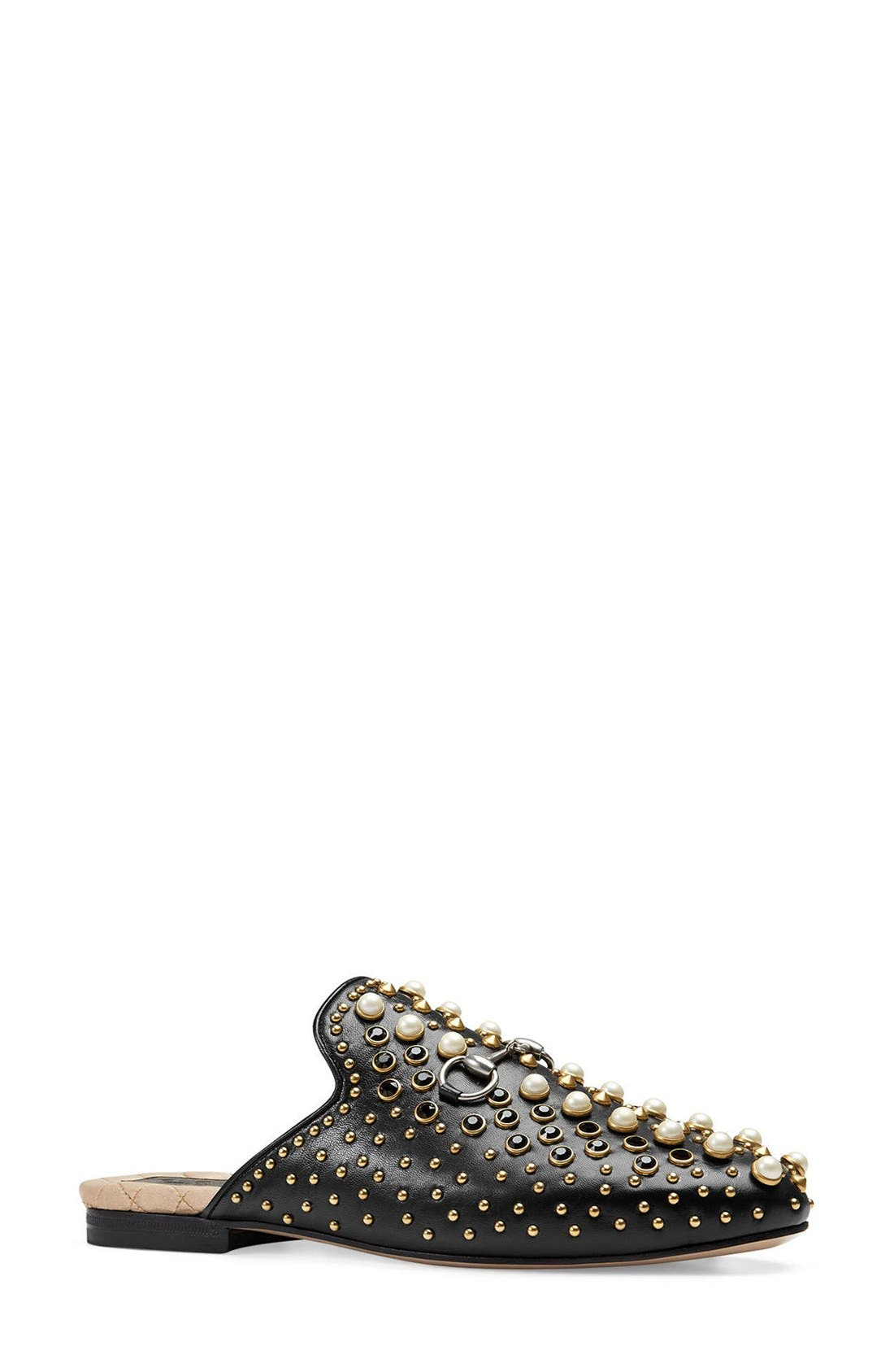 GUCCI Princetown Studded Loafer Mule