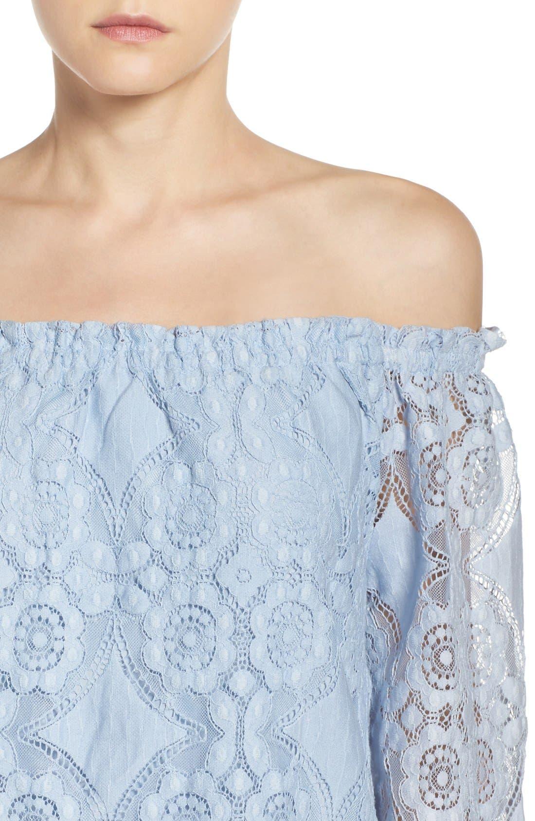 Alternate Image 5  - BB Dakota Halden A-Line Dress