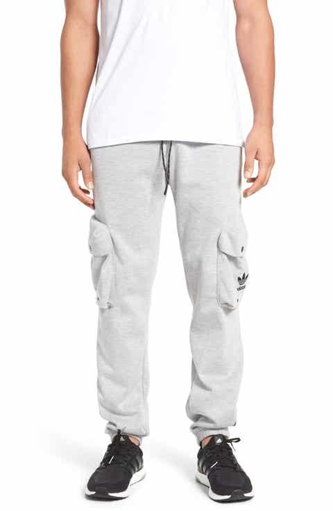 adidas Originals 'Mad Plaid' Knit Cargo Jogger Pants
