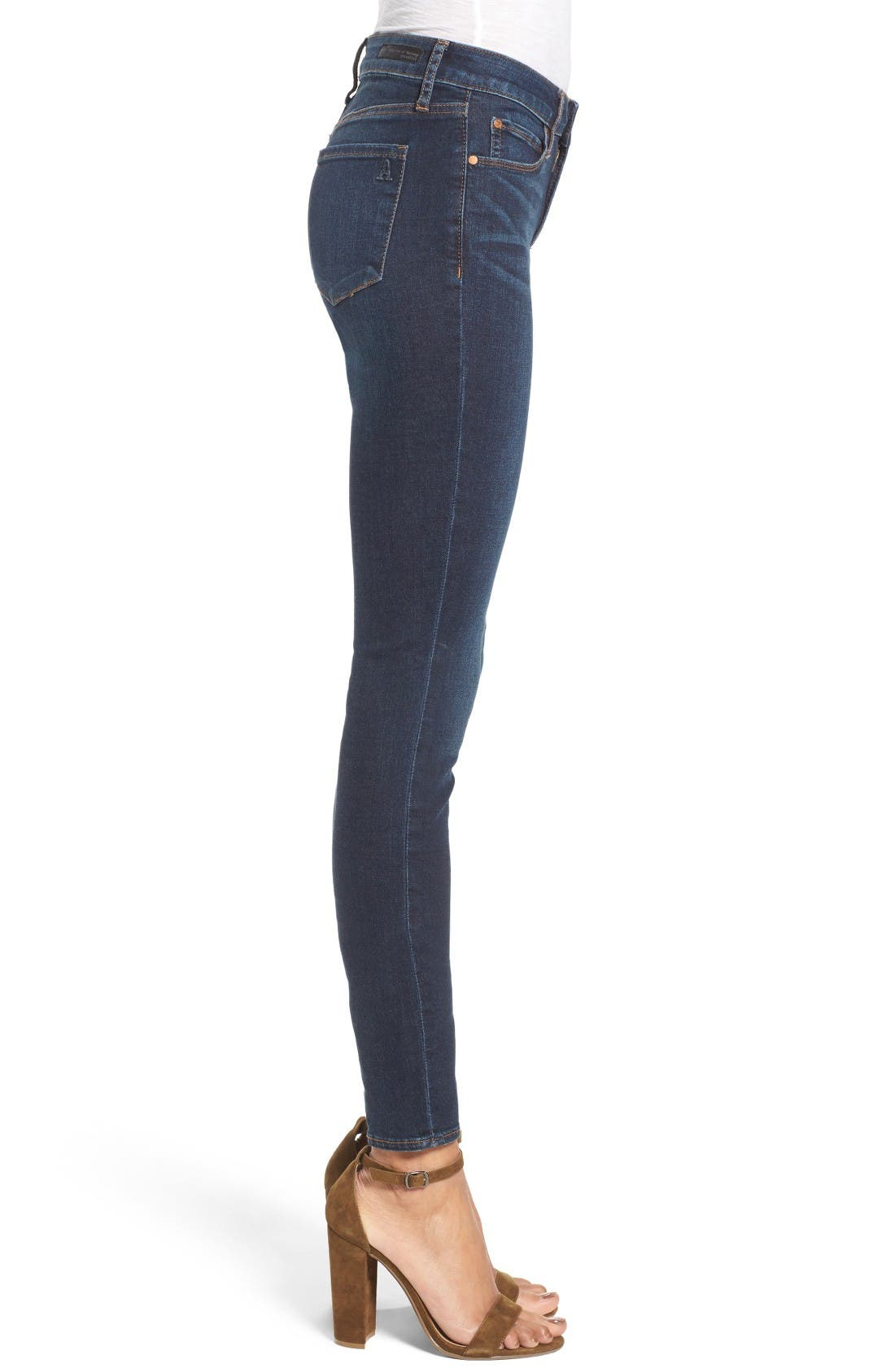 Alternate Image 3  - Articles of Society Mya Skinny Jeans (Waverly)