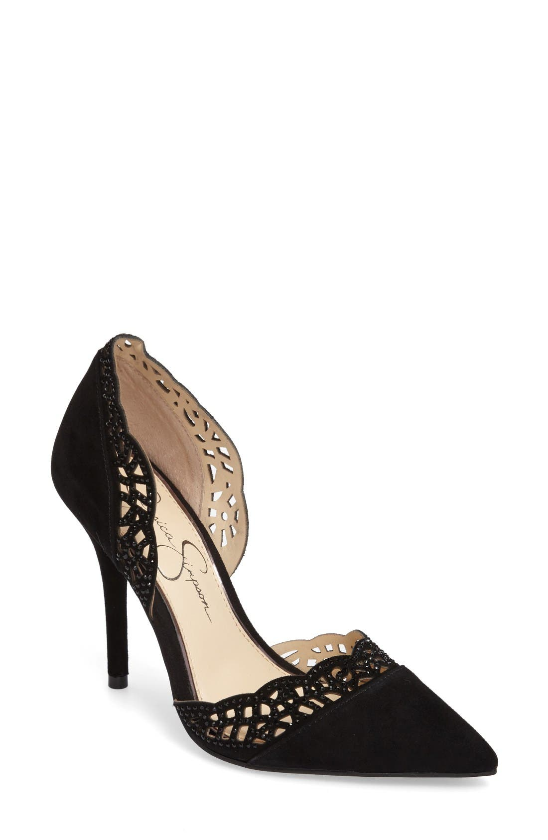 Alternate Image 1 Selected - Jessica Simpson Teriann d'Orsay Pump (Women)