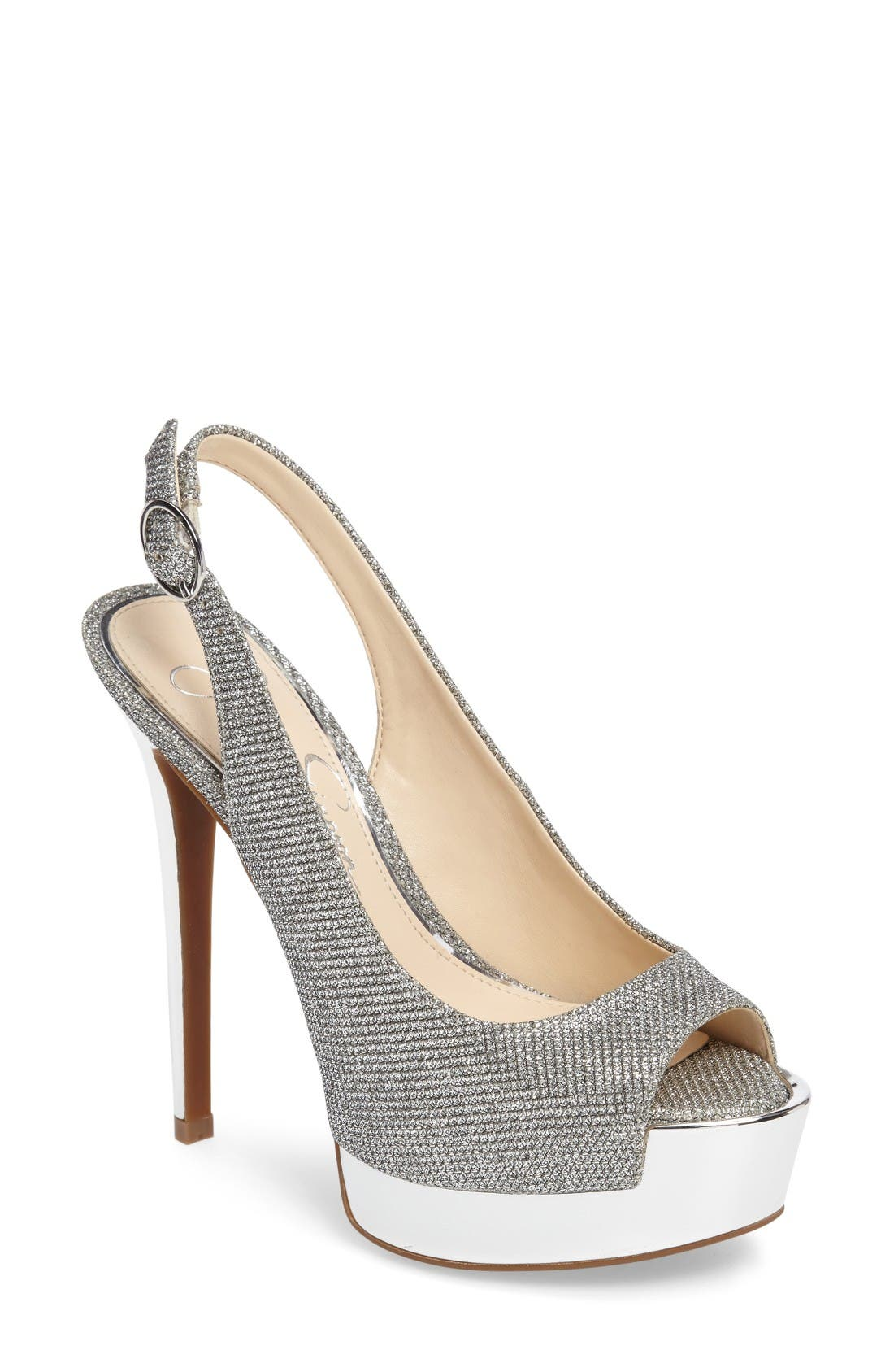 JESSICA SIMPSON 'Kabale' Slingback Platform Sandal
