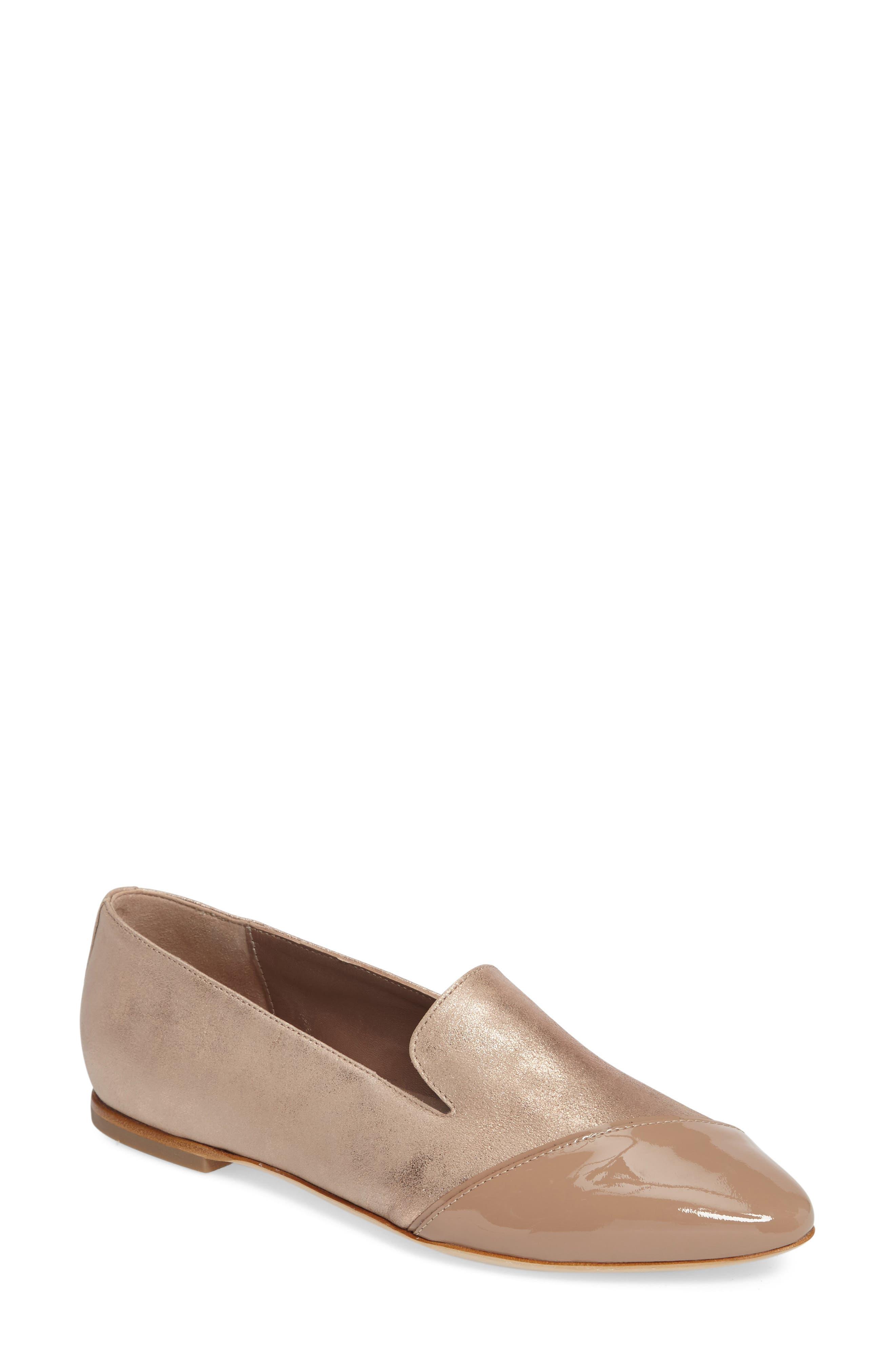 AGL Asymmetrical Cap Toe Flat (Women)