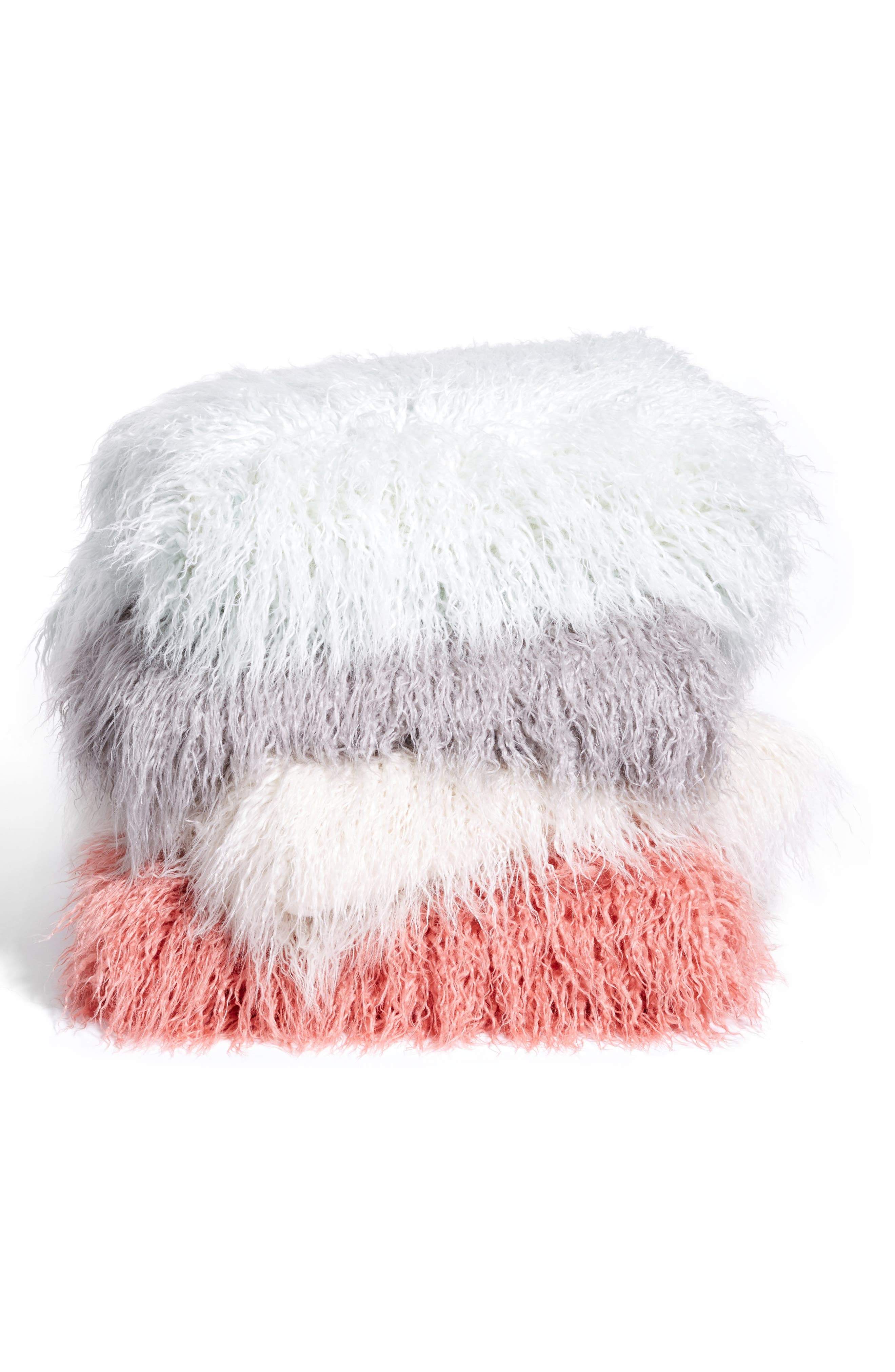 Alternate Image 3  - Nordstrom at Home Mongolian Faux Fur Throw