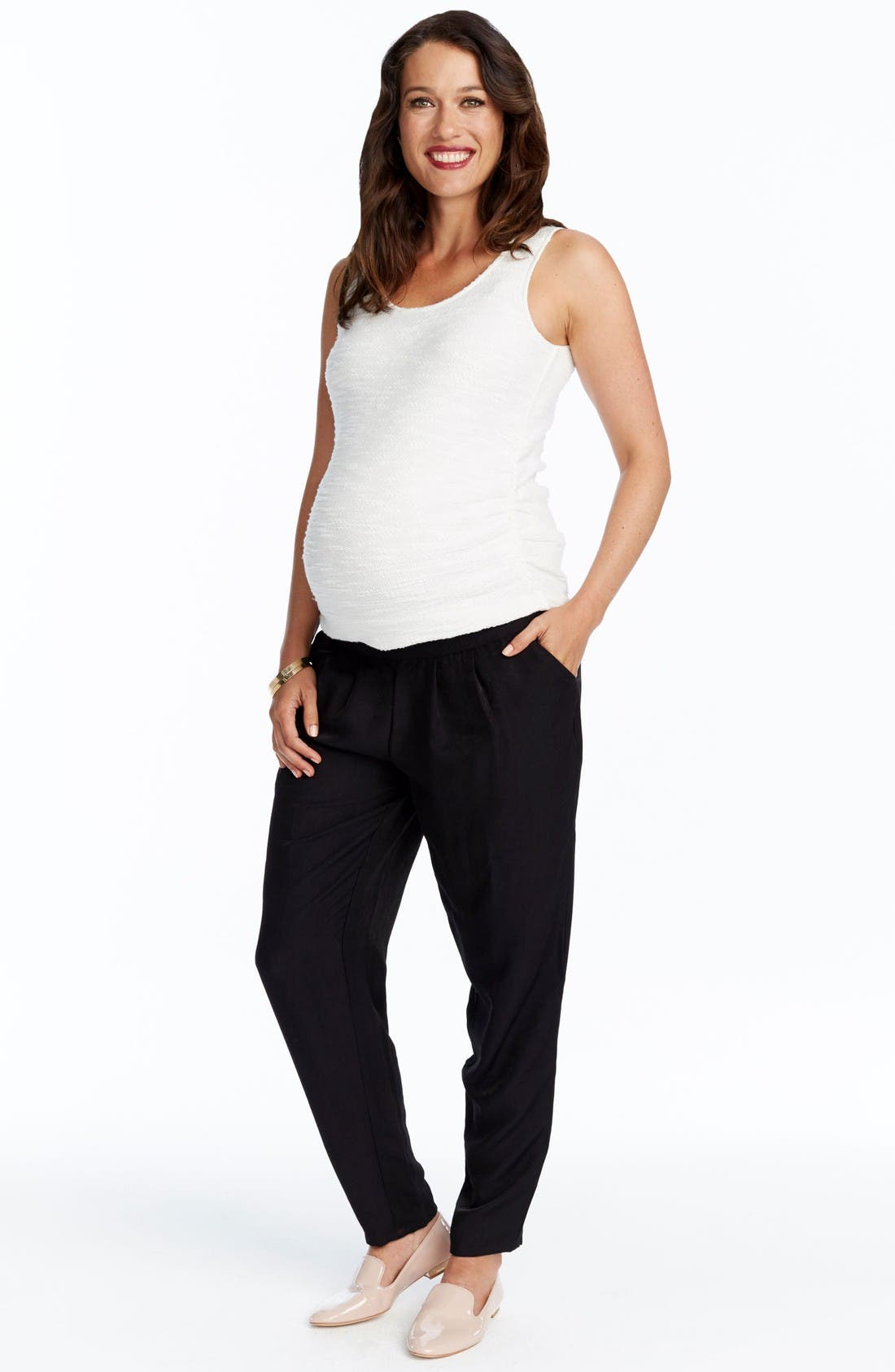 Alternate Image 3  - Rosie Pope Willow Maternity Pants