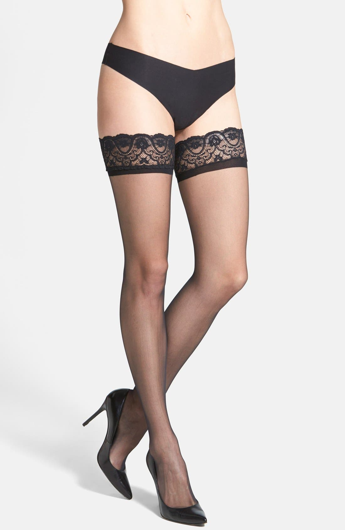 Commando Up All Night Stay-Up Stockings