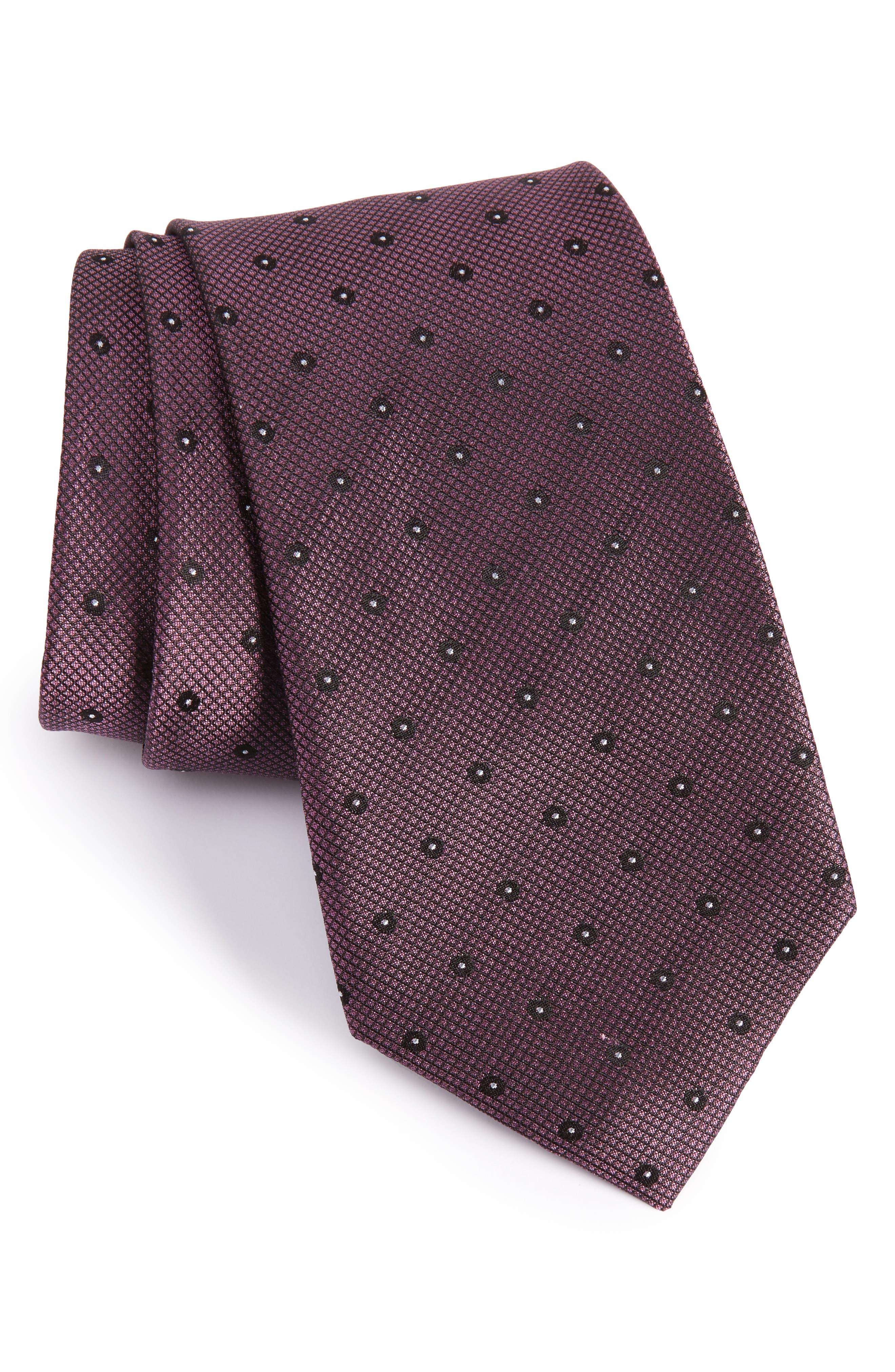CALIBRATE Handmade Dot Silk Tie