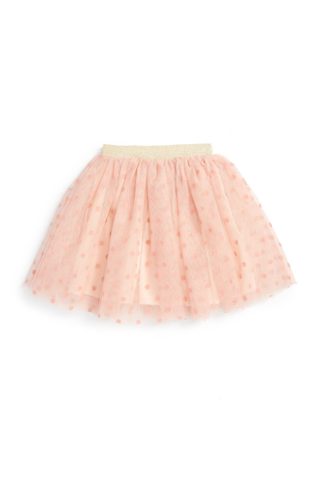 Main Image - Truly Me Polka Dot Tutu Skirt (Toddler Girls & Little Girls)