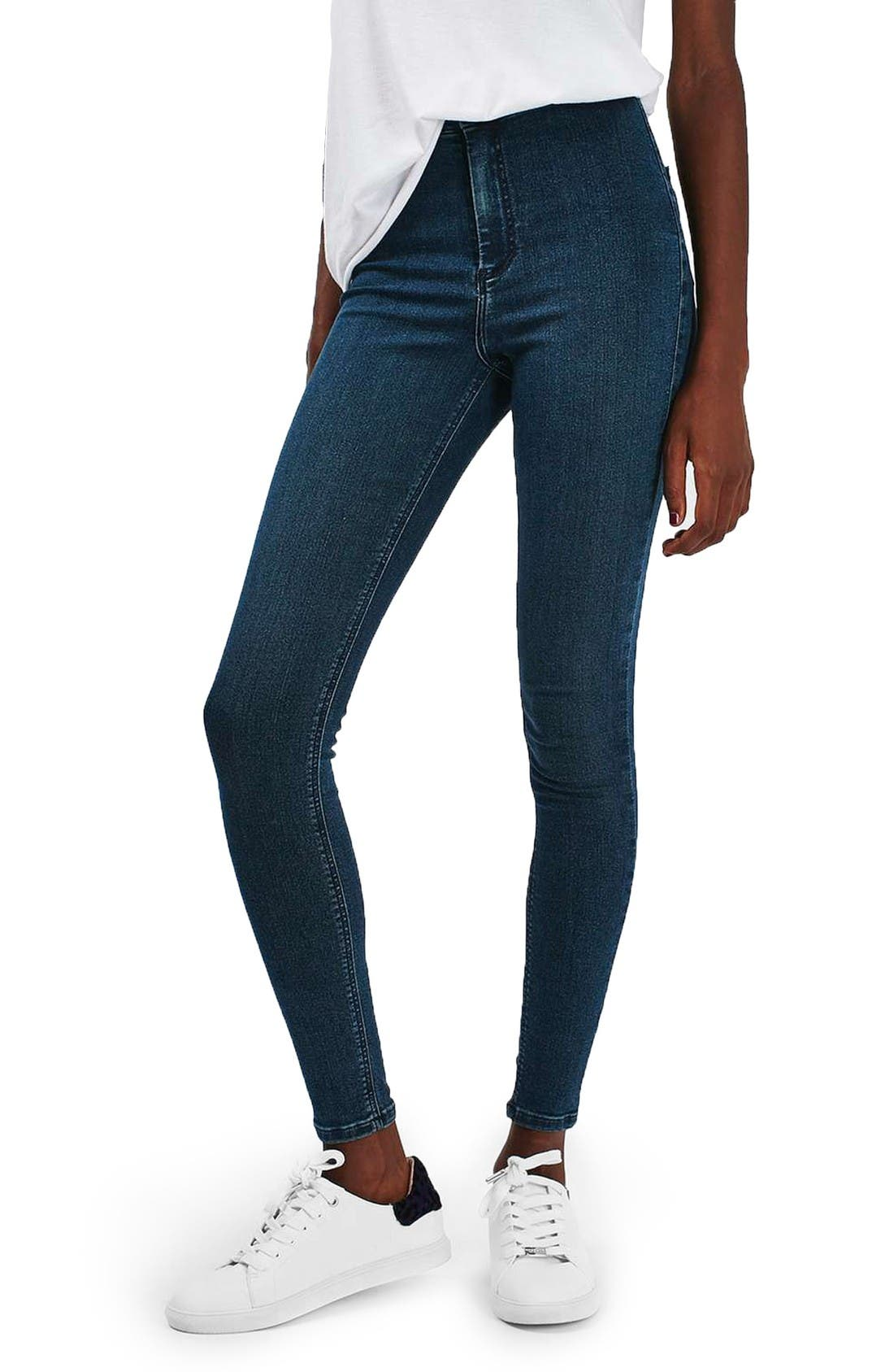 Alternate Image 1 Selected - Topshop Joni High Waist Skinny Jeans