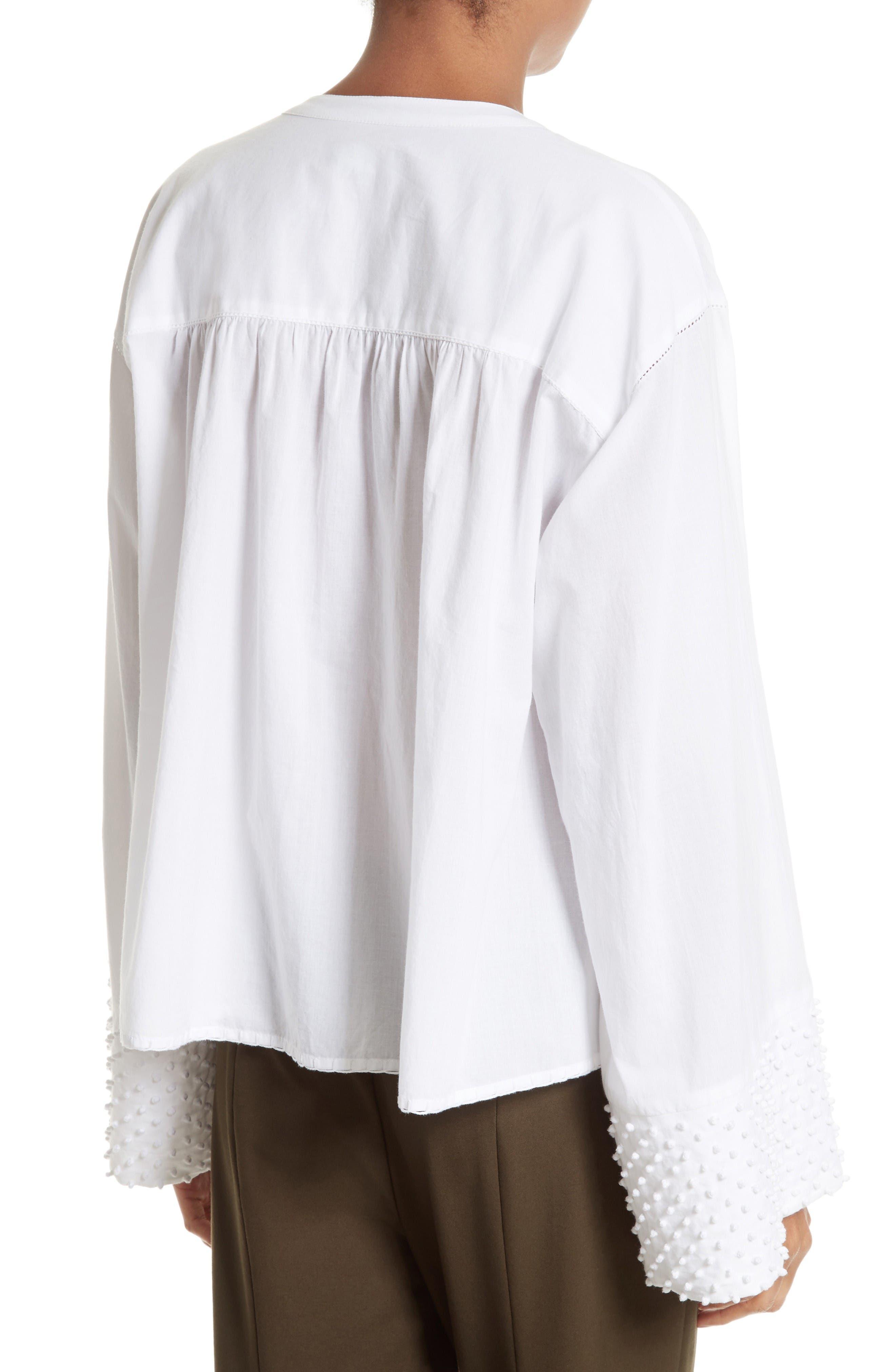 Alternate Image 2  - Theory Matara E Embroidered Cotton Top