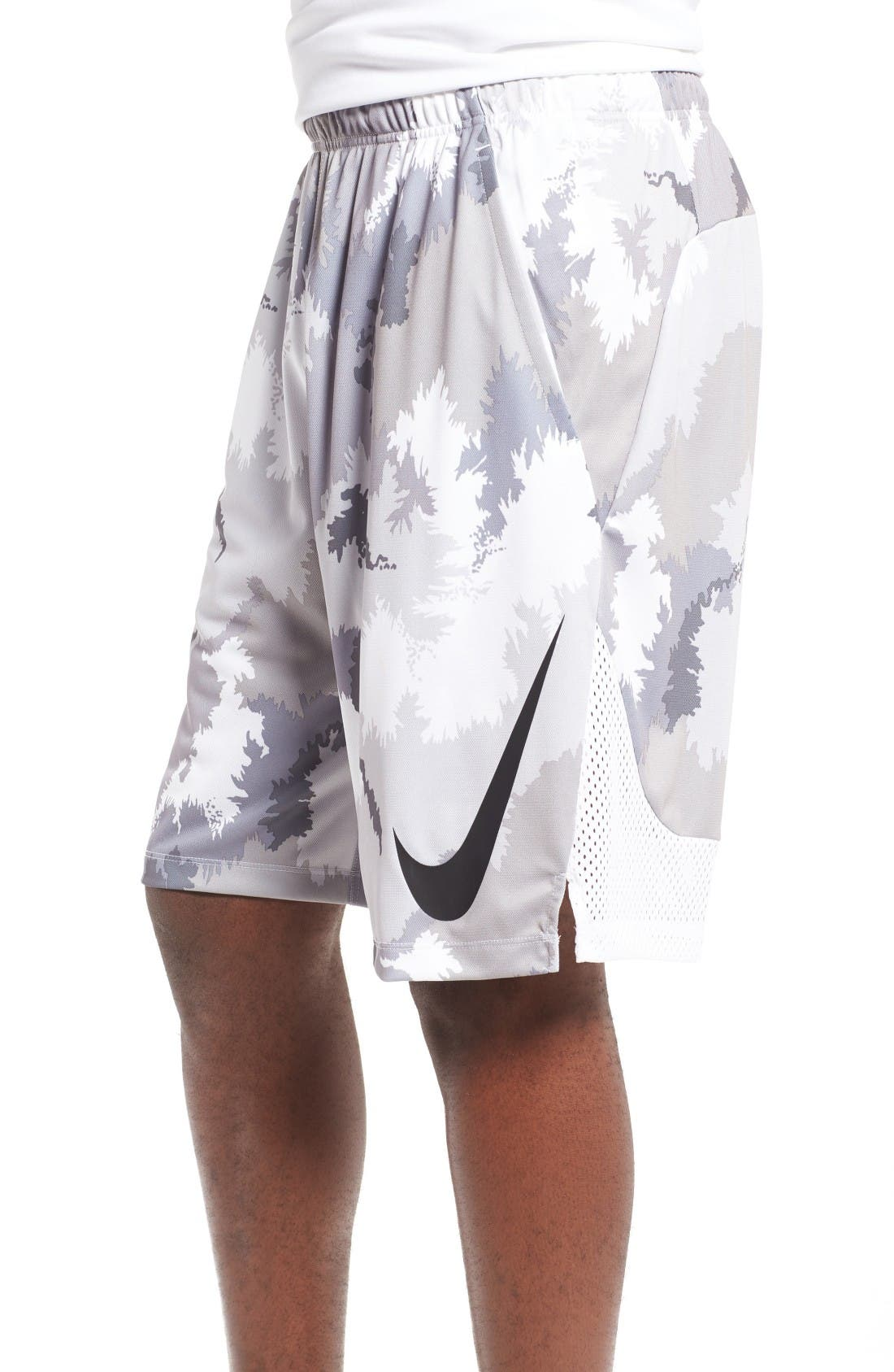 Alternate Image 3  - Nike 'Hyperspeed Topo Buzz' Camo Print Dri-FIT Athletic Shorts