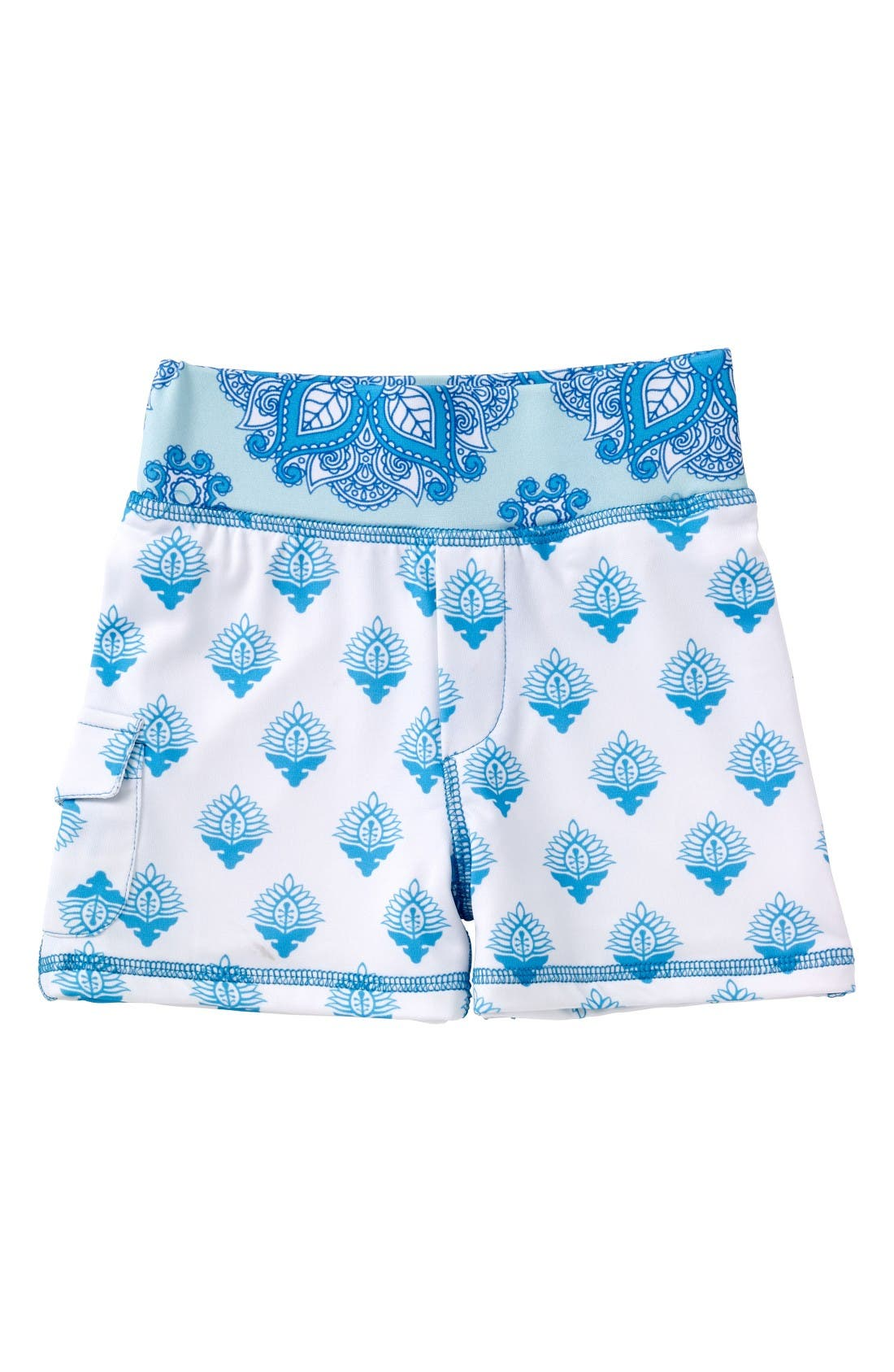 Masalababy Print Swim Shorts (Toddler Girls, Little Girls & Big Girls)