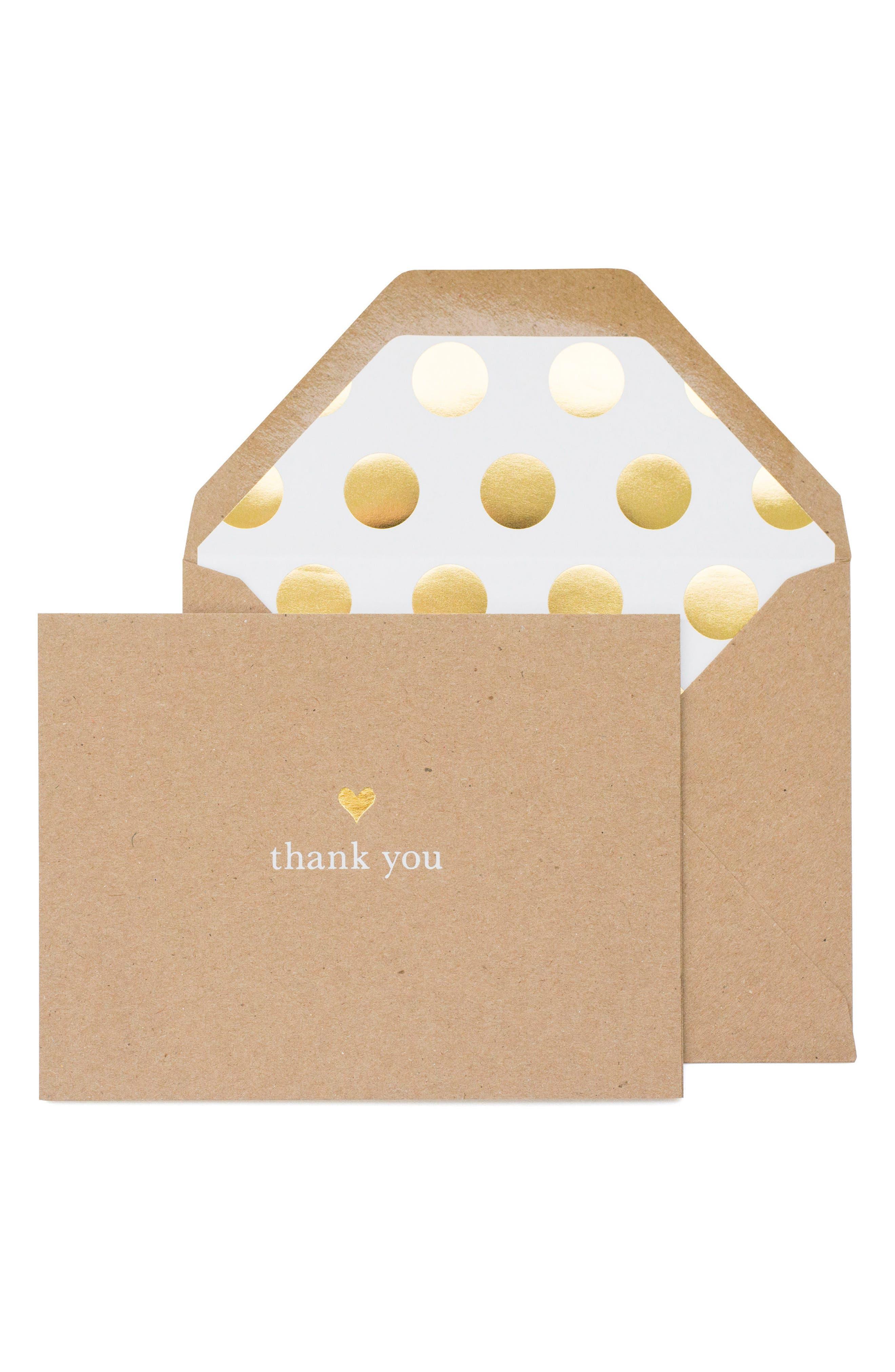 Main Image - sugar paper Thank You Card Set