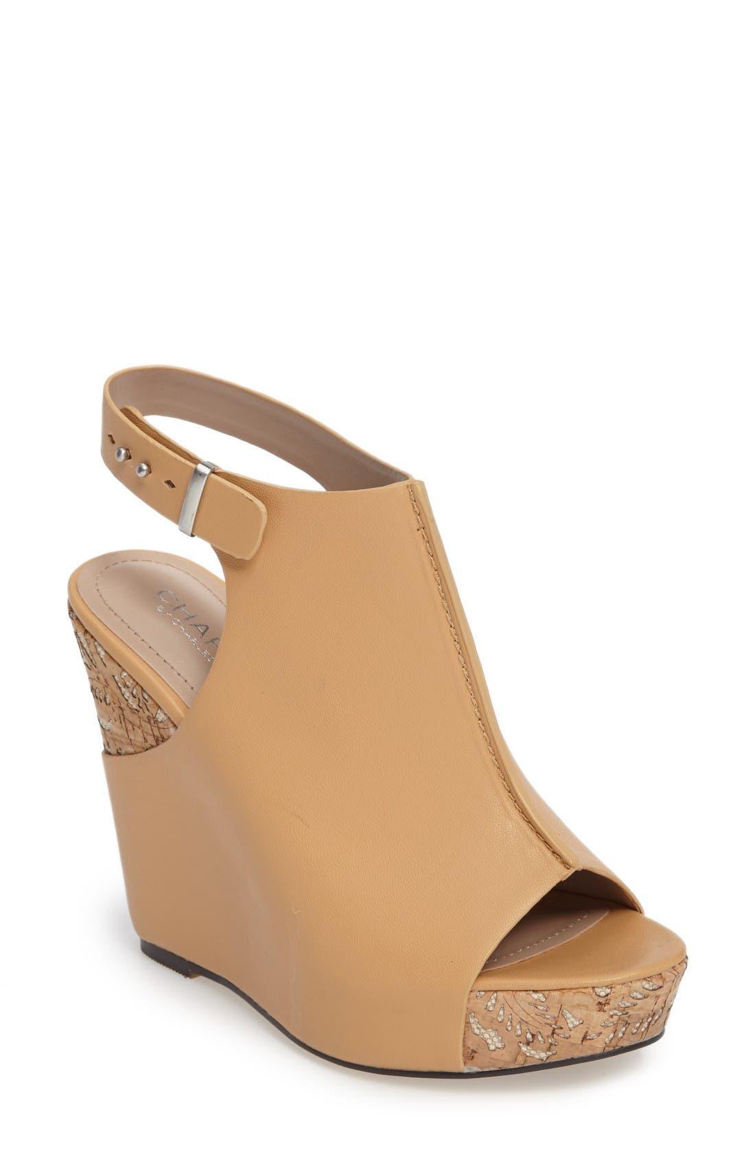 Charles by Charles David Ames Platform Wedge Sandal (Women)