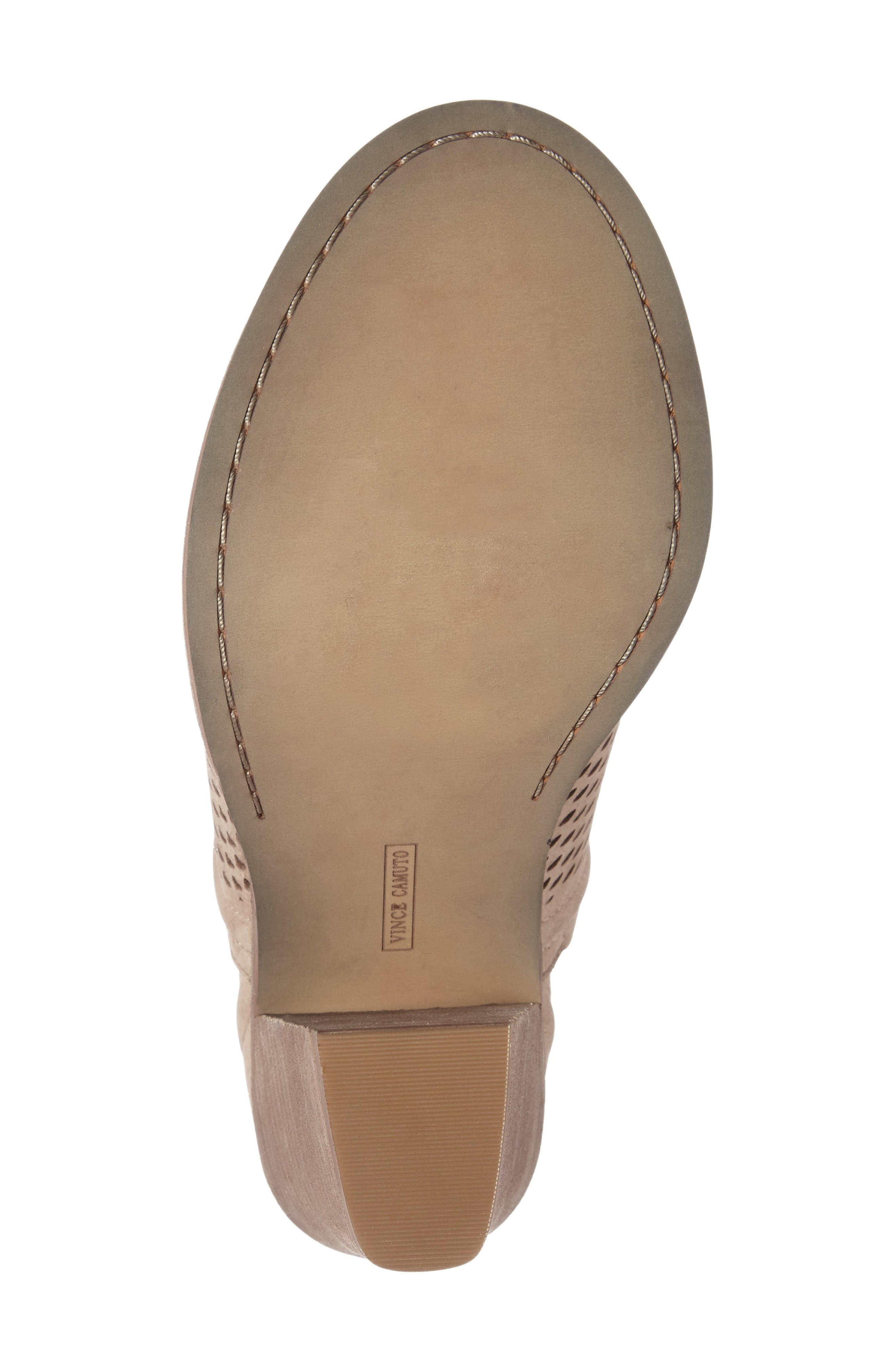 Alternate Image 4  - Vince Camuto Kensa Peep Toe Bootie (Women) (Nordstrom Exclusive)