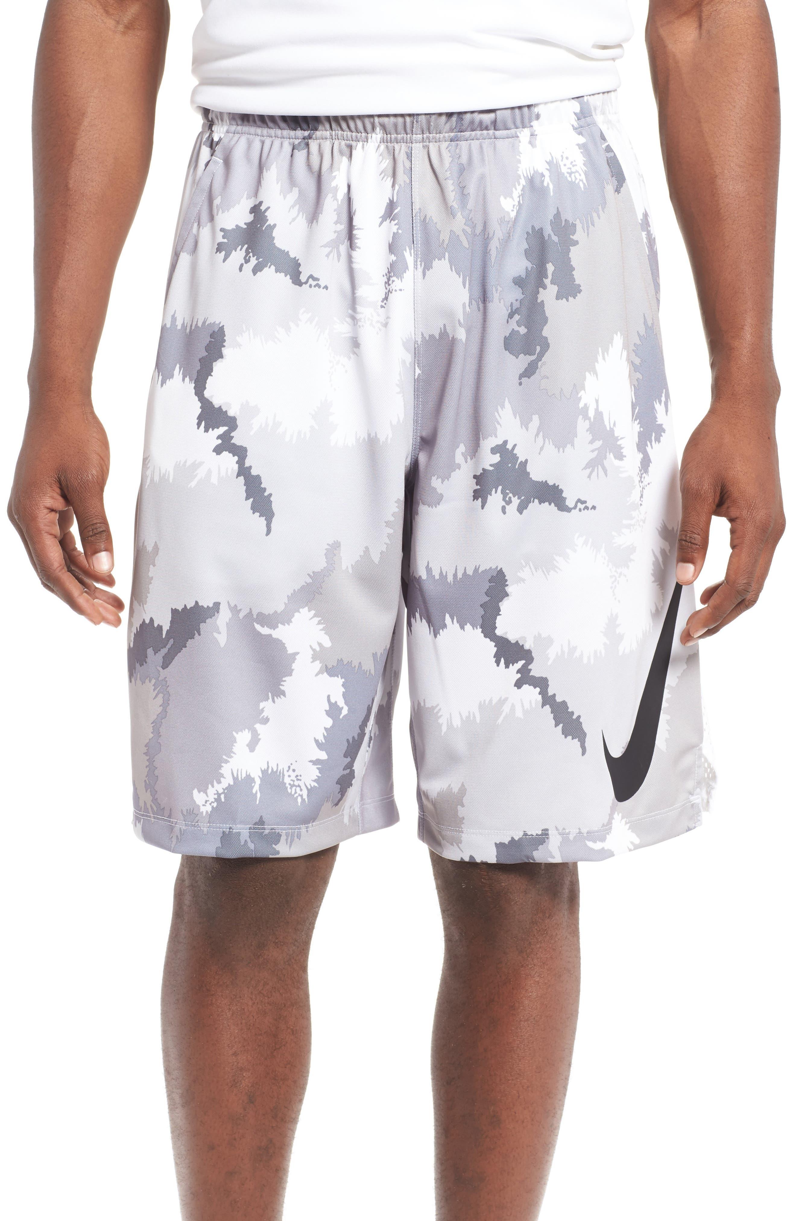 Nike 'Hyperspeed Topo Buzz' Camo Print Dri-FIT Athletic Shorts