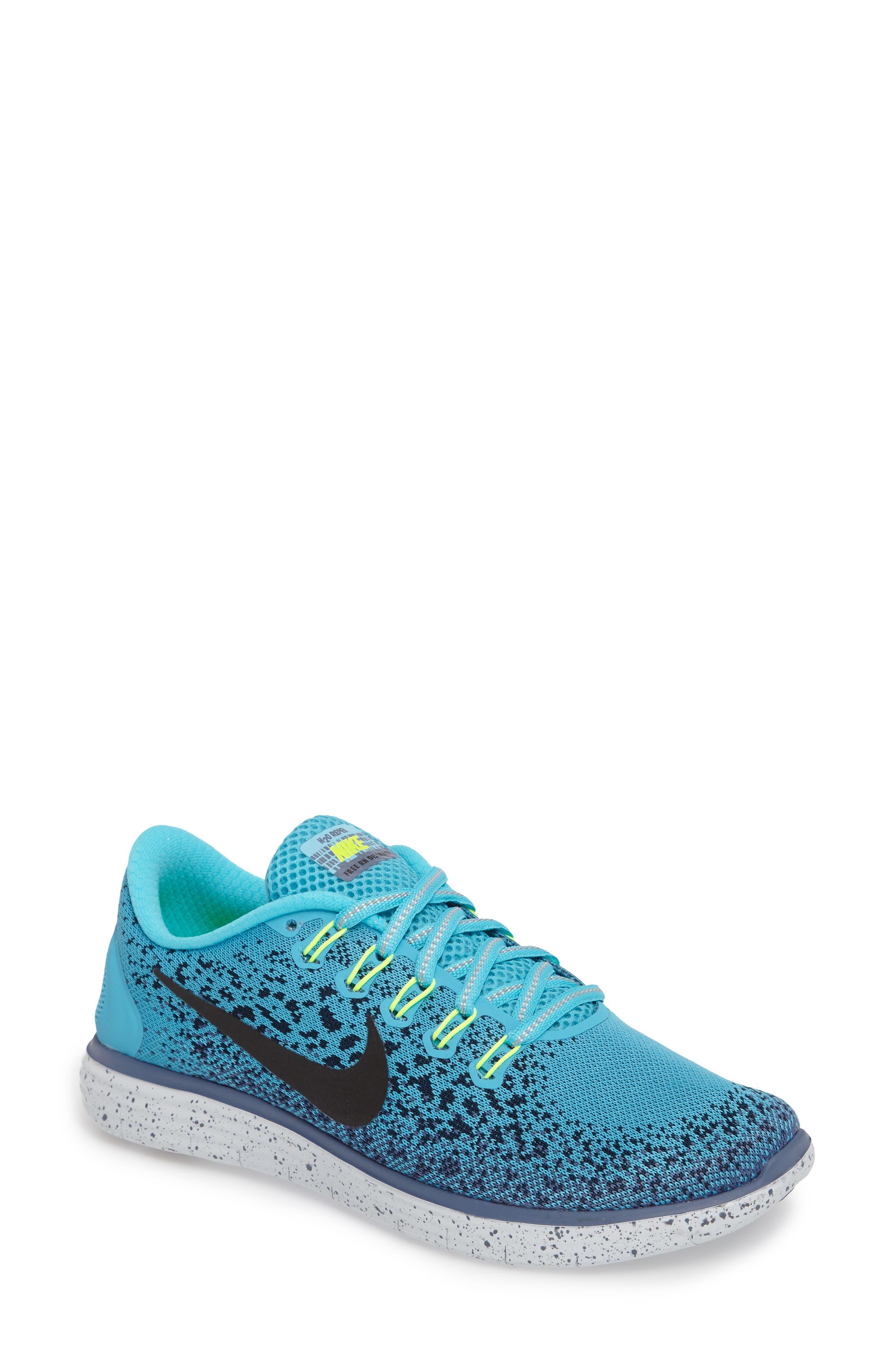 Alternate Image 1 Selected - Nike Free RN Distance Shield Running Shoe (Women)