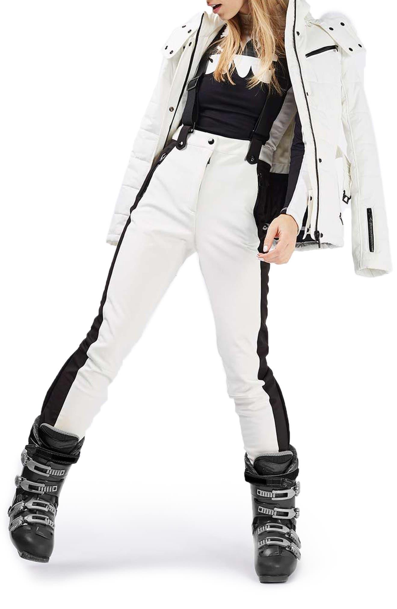 Alternate Image 1 Selected - Topshop Ziggy Skinny Fit Snow Pants