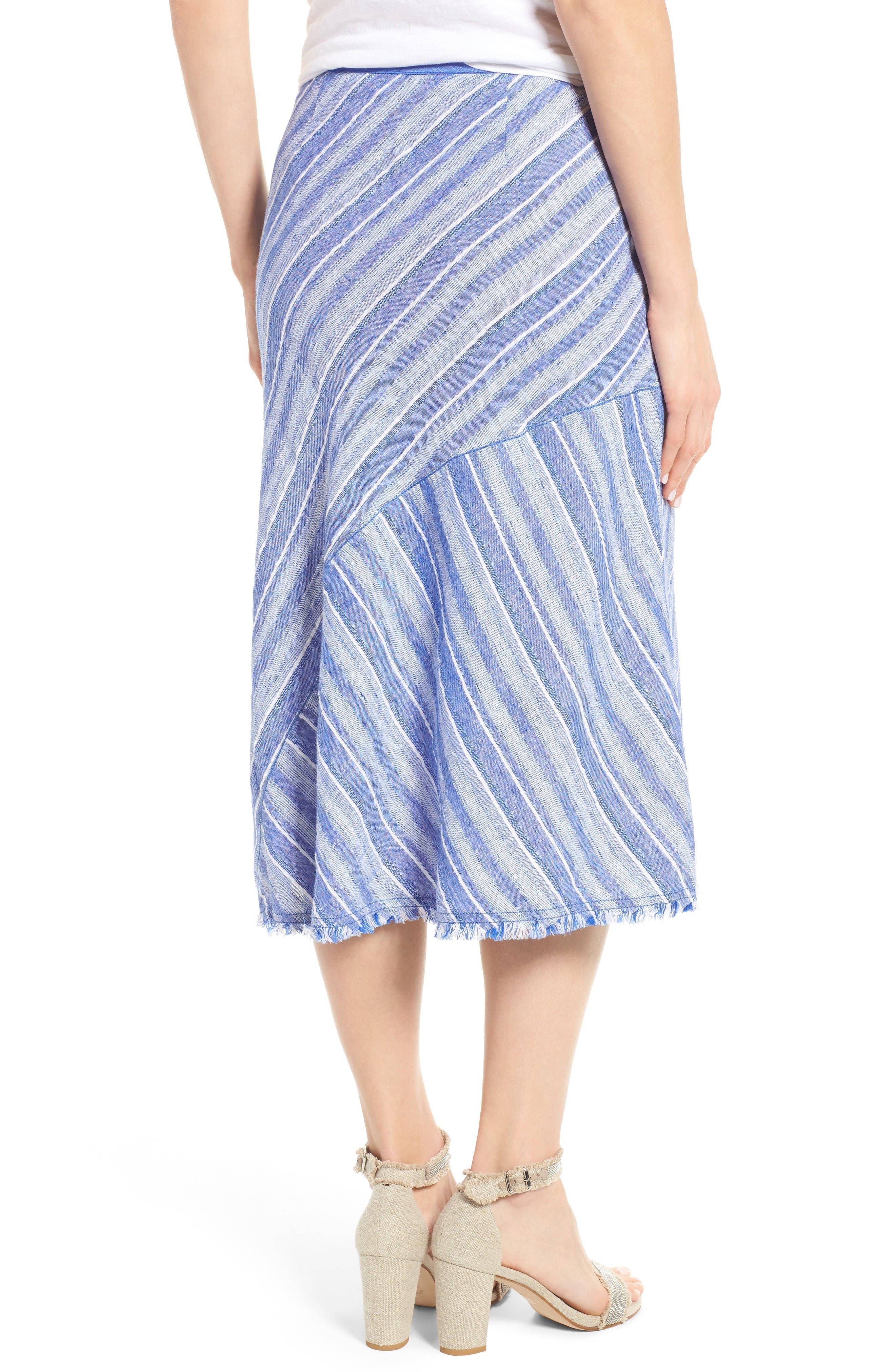 Alternate Image 2  - NIC+ZOE Freshwater A-Line Skirt