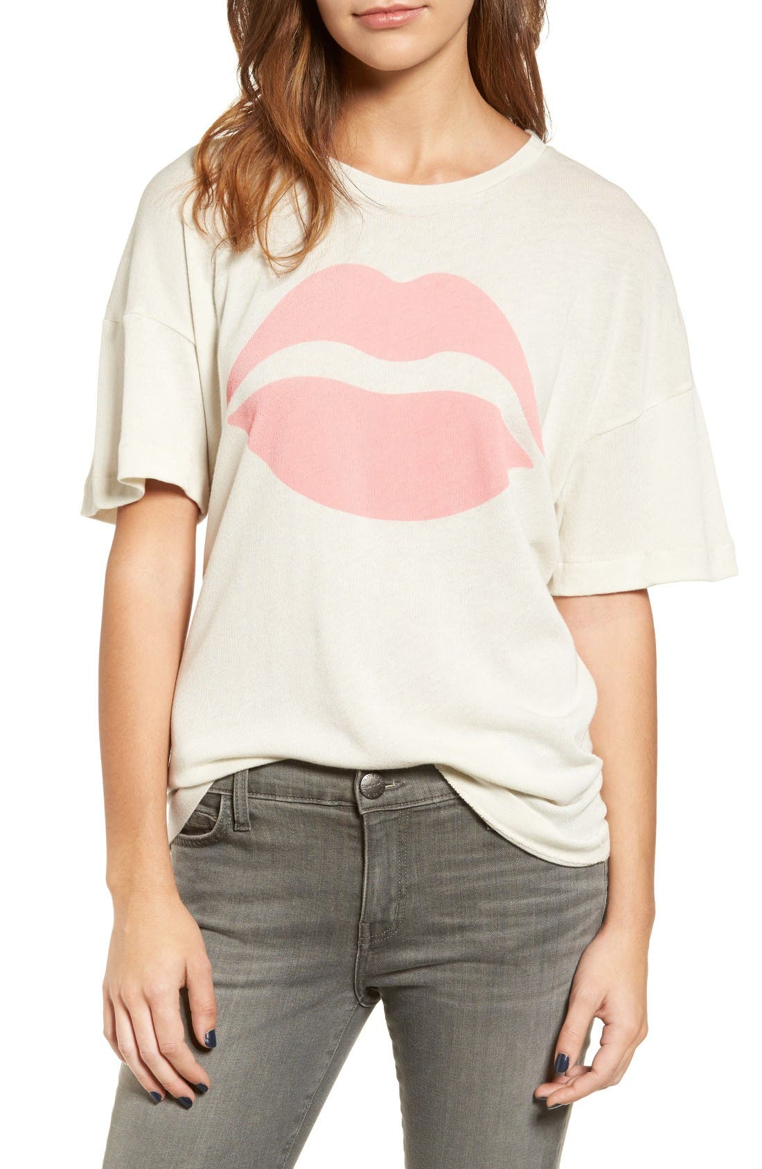 Alternate Image 1 Selected - Wildfox First Kiss Sonic Tee