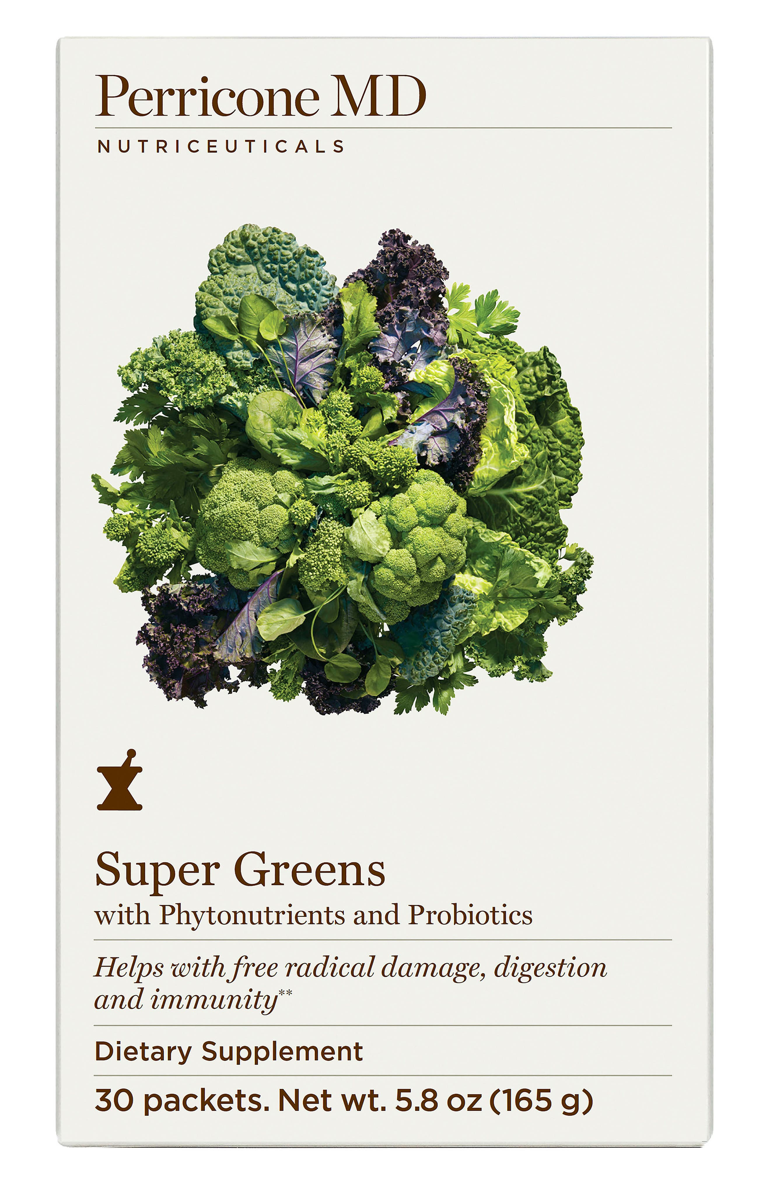 PERRICONE MD Super Greens Dietary Supplement Drink Powder