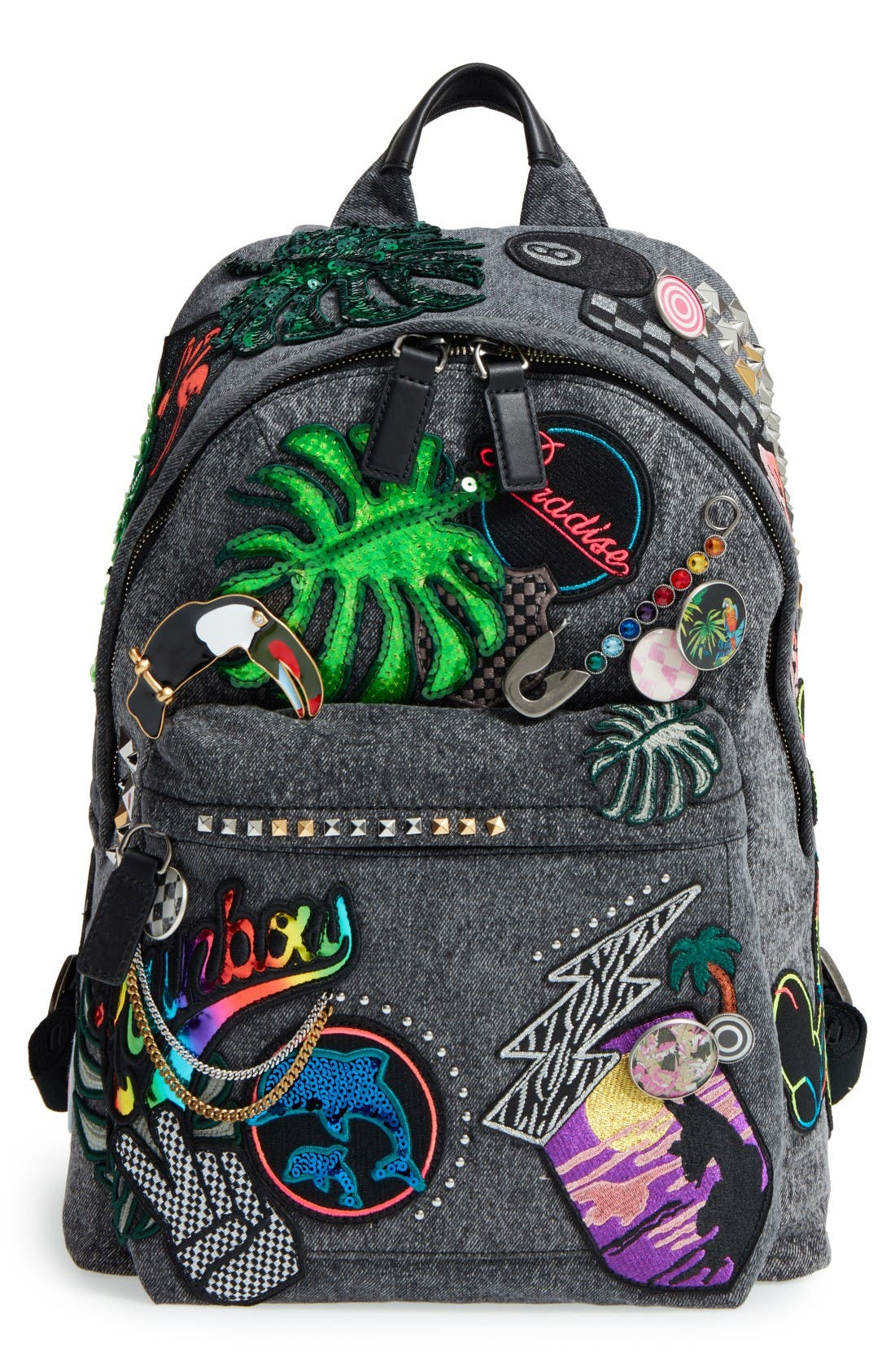 Alternate Image 1 Selected - MARC JACOBS Paradise Biker Backpack
