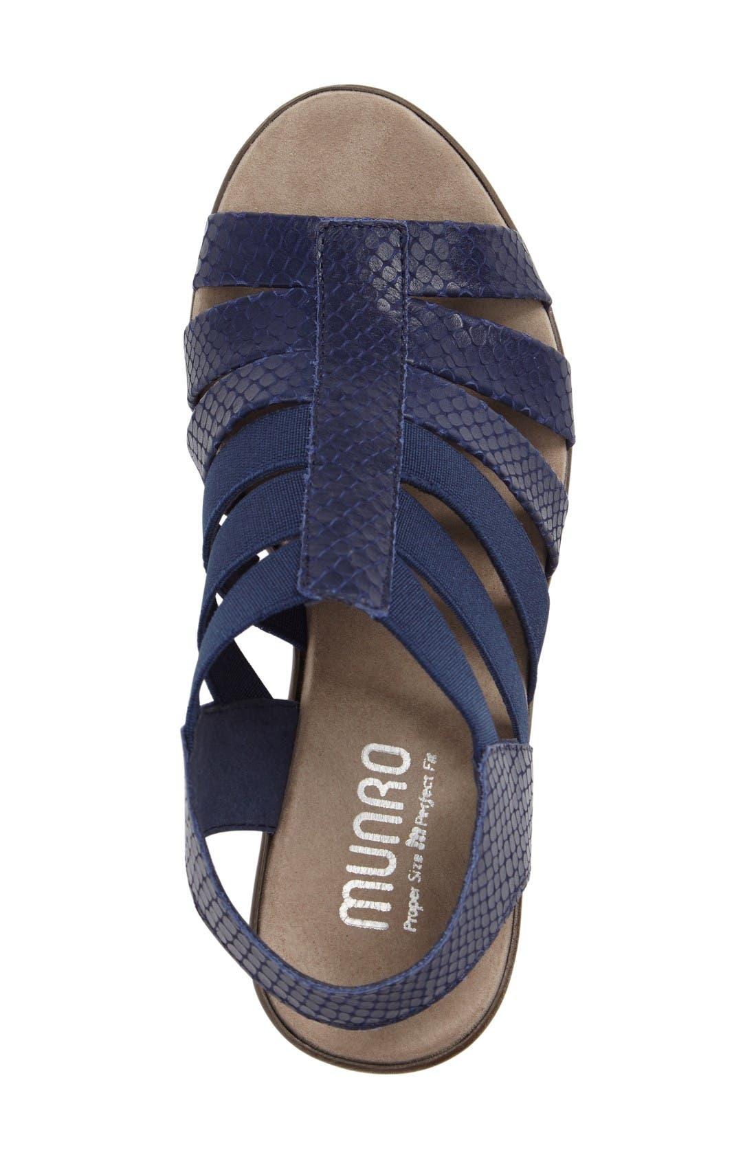 Alternate Image 3  - Munro 'Cookie' Slingback Sandal (Women)