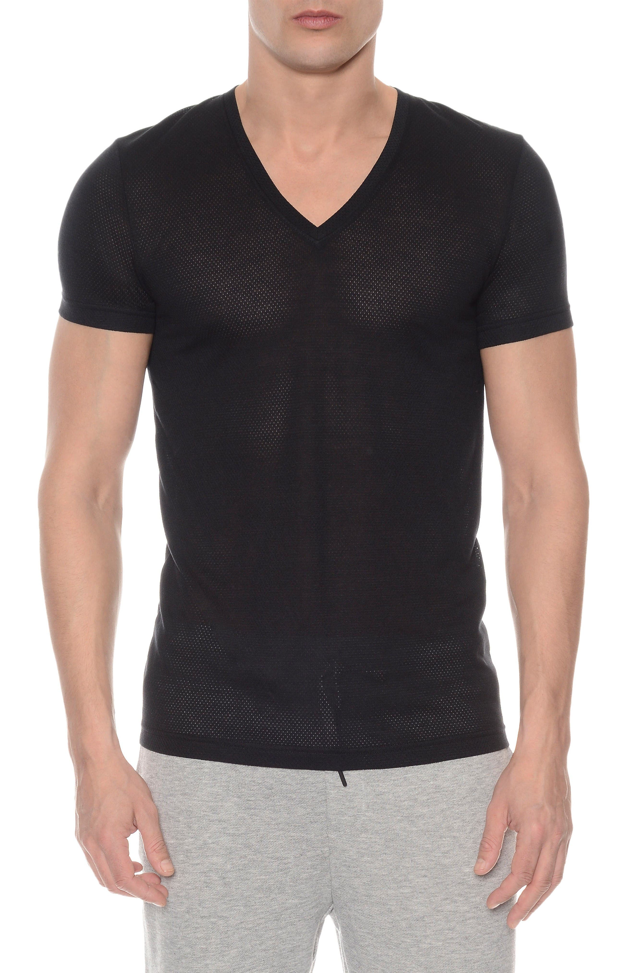 2(X)IST Mesh V-Neck T-Shirt