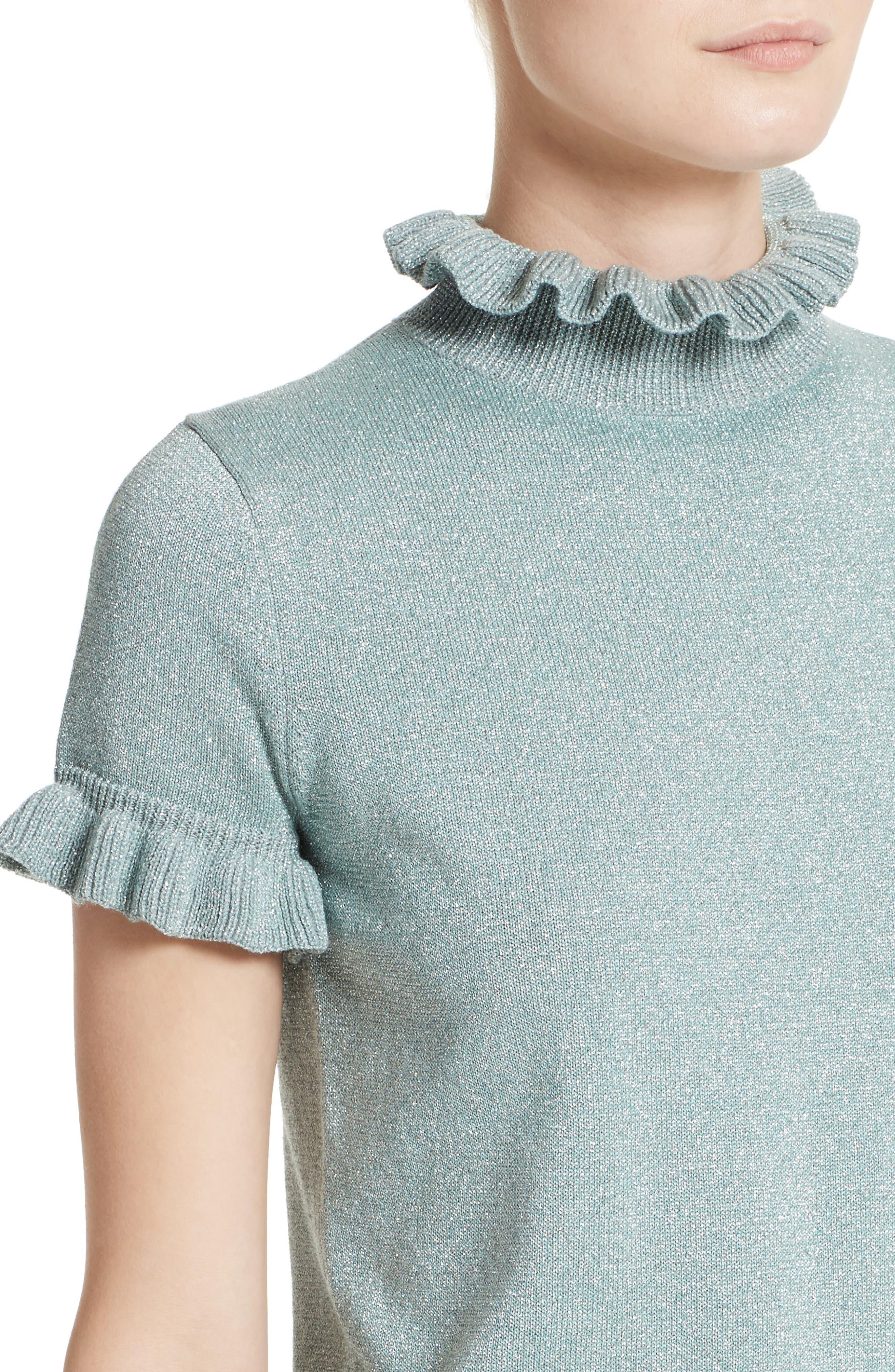 Alternate Image 5  - Shrimps Mary Merino Wool Blend Sweater