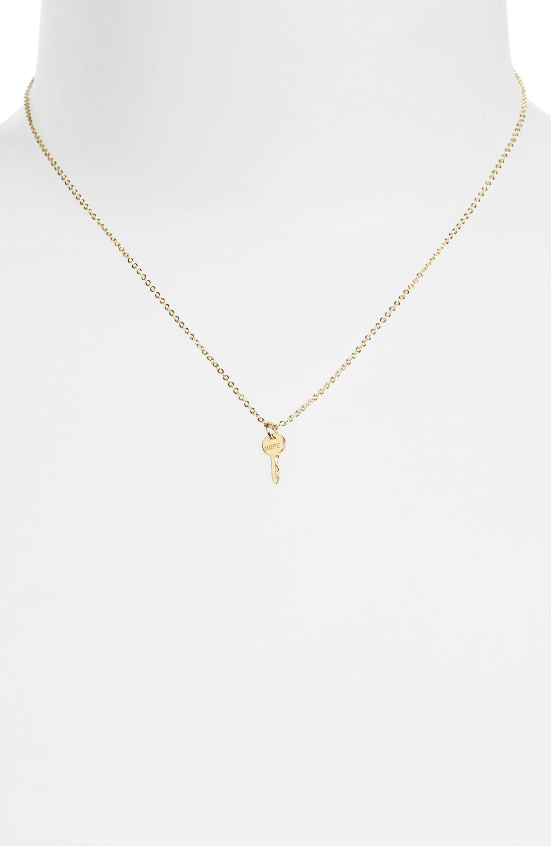 The Giving Keys Hope Mini Key Necklace