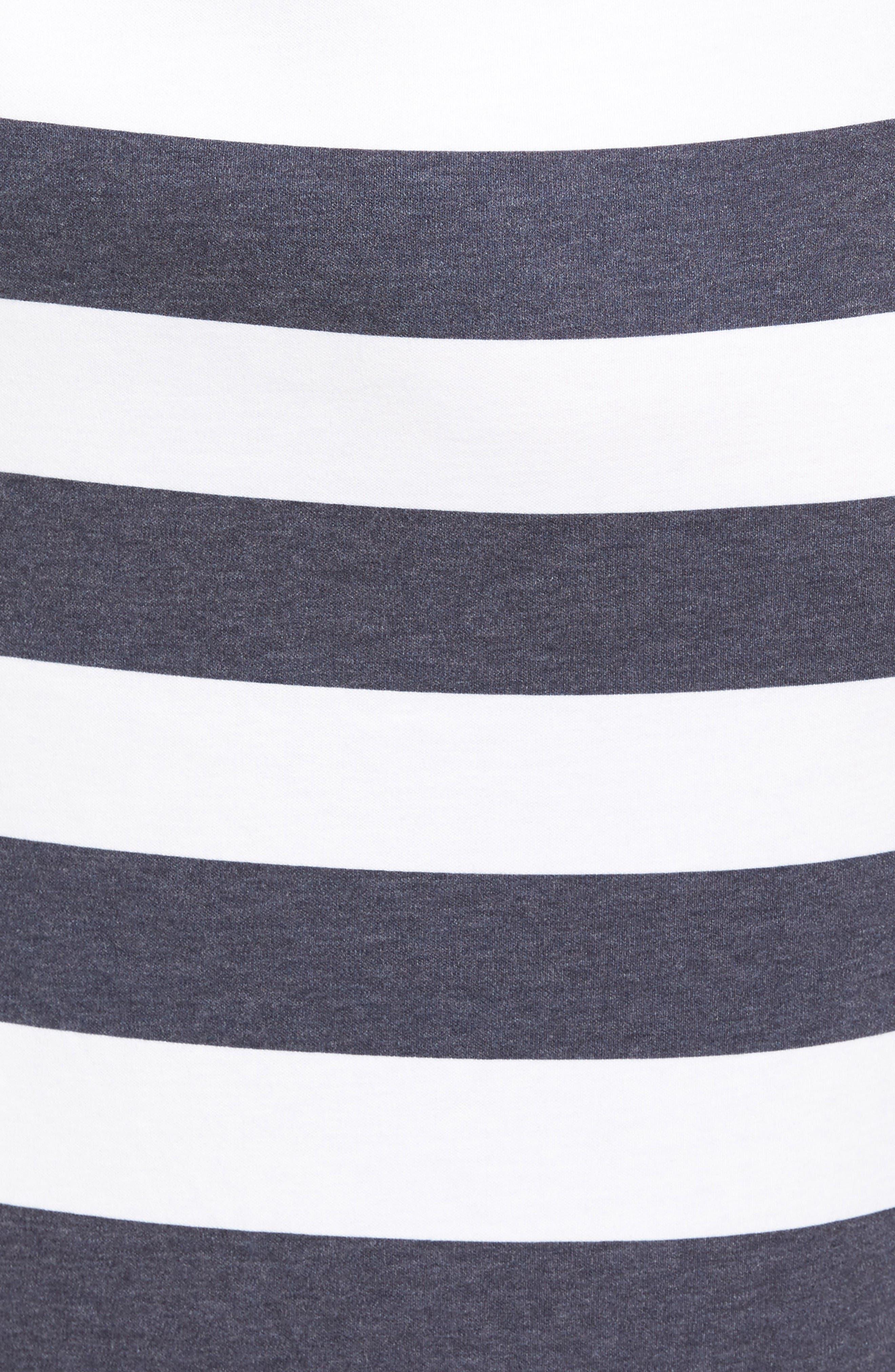 Alternate Image 5  - MICHAEL Michael Kors Rugby Stripe Tank Maxi Dress (Regular & Petite)