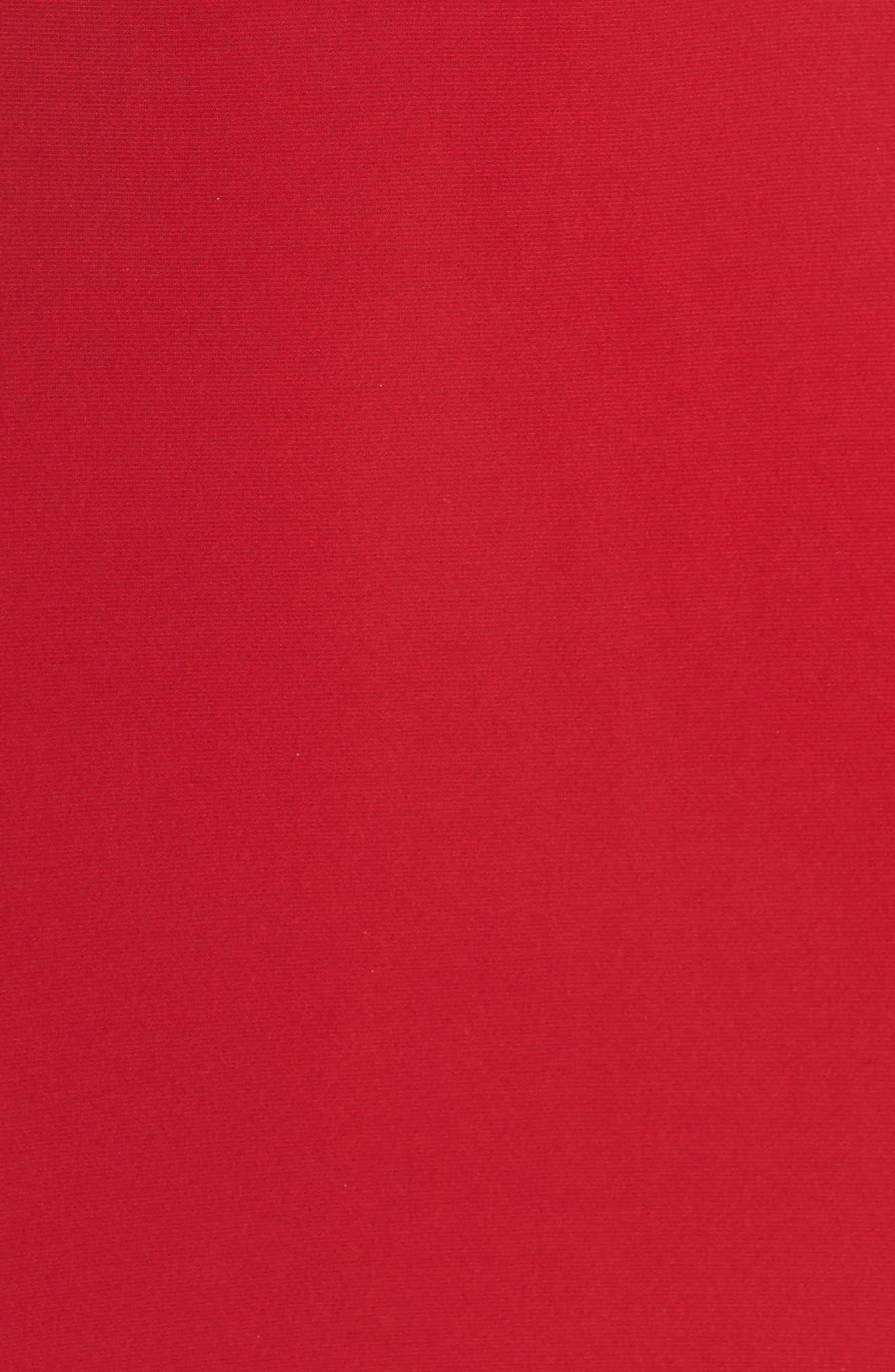 Alternate Image 6  - La Femme Slit Gown