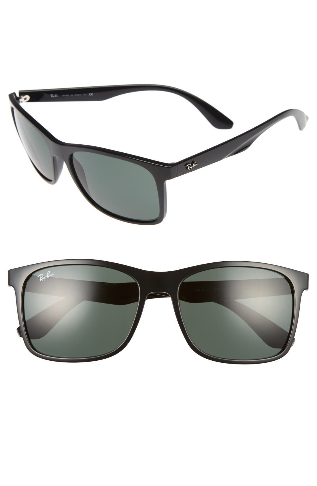 Alternate Image 1 Selected - Ray-Ban 57mm Square Sunglasses