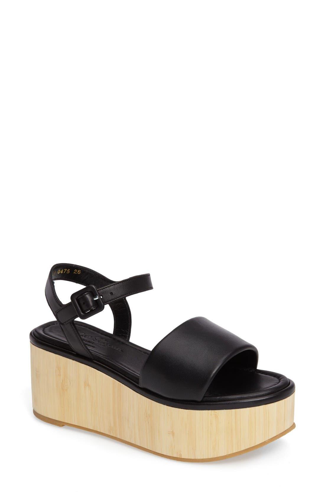 ROBERT CLERGERIE Flap Platform Sandal