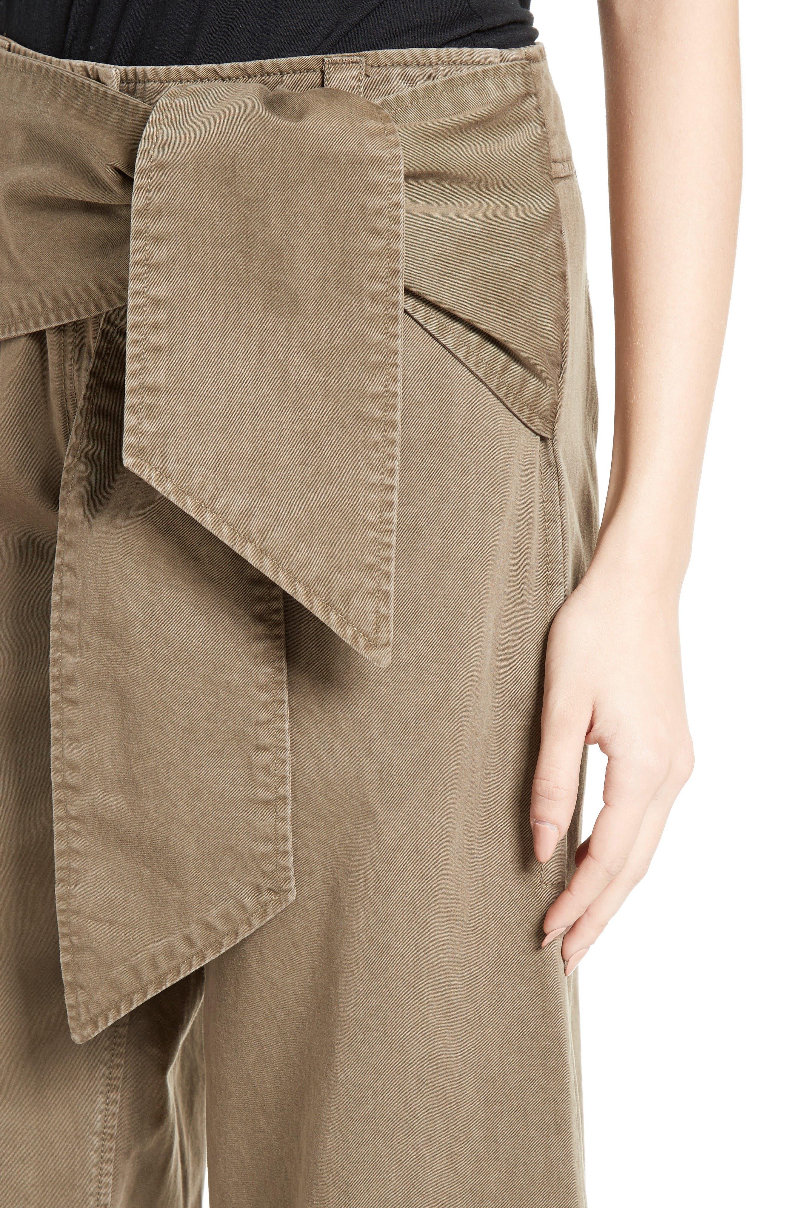 Alternate Image 5  - Cinq à Sept Knox Cotton Culottes