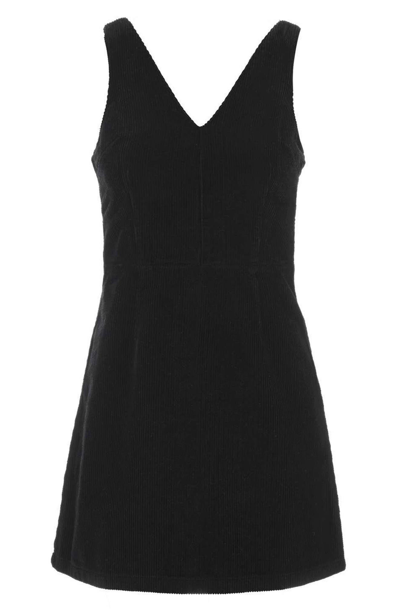 Alternate Image 4  - Topshop Corduroy Dress