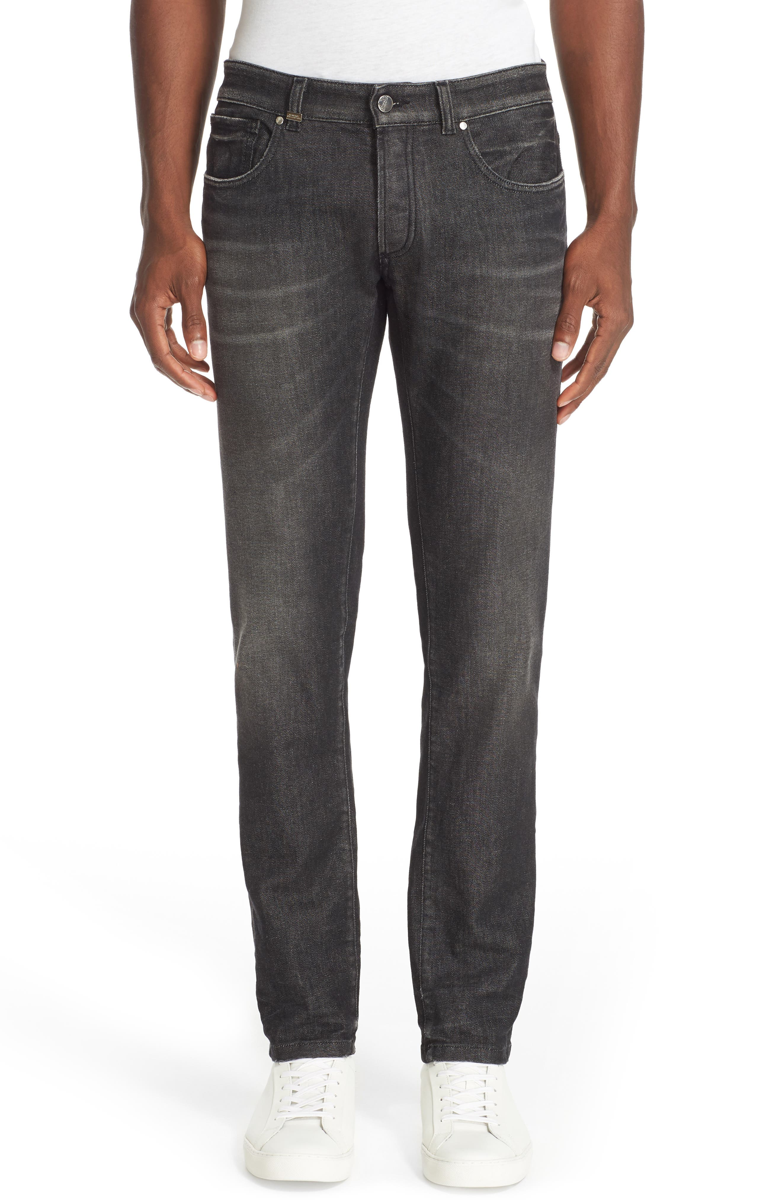 VERSACE COLLECTION Embellished Pocket Straight Leg Jeans