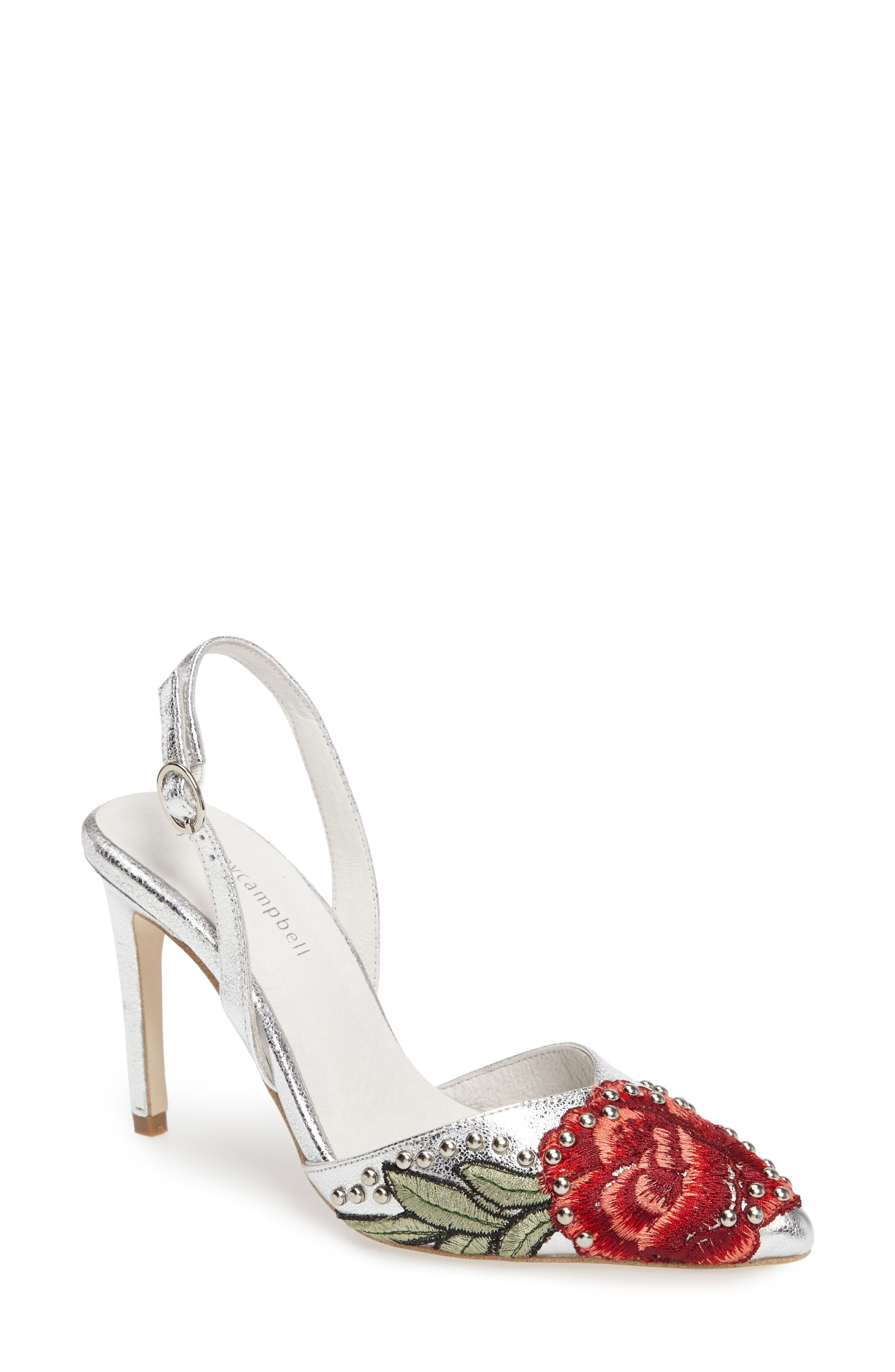 Alternate Image 1 Selected - Jeffrey Campbell Delmon Slingback Pump (Women)
