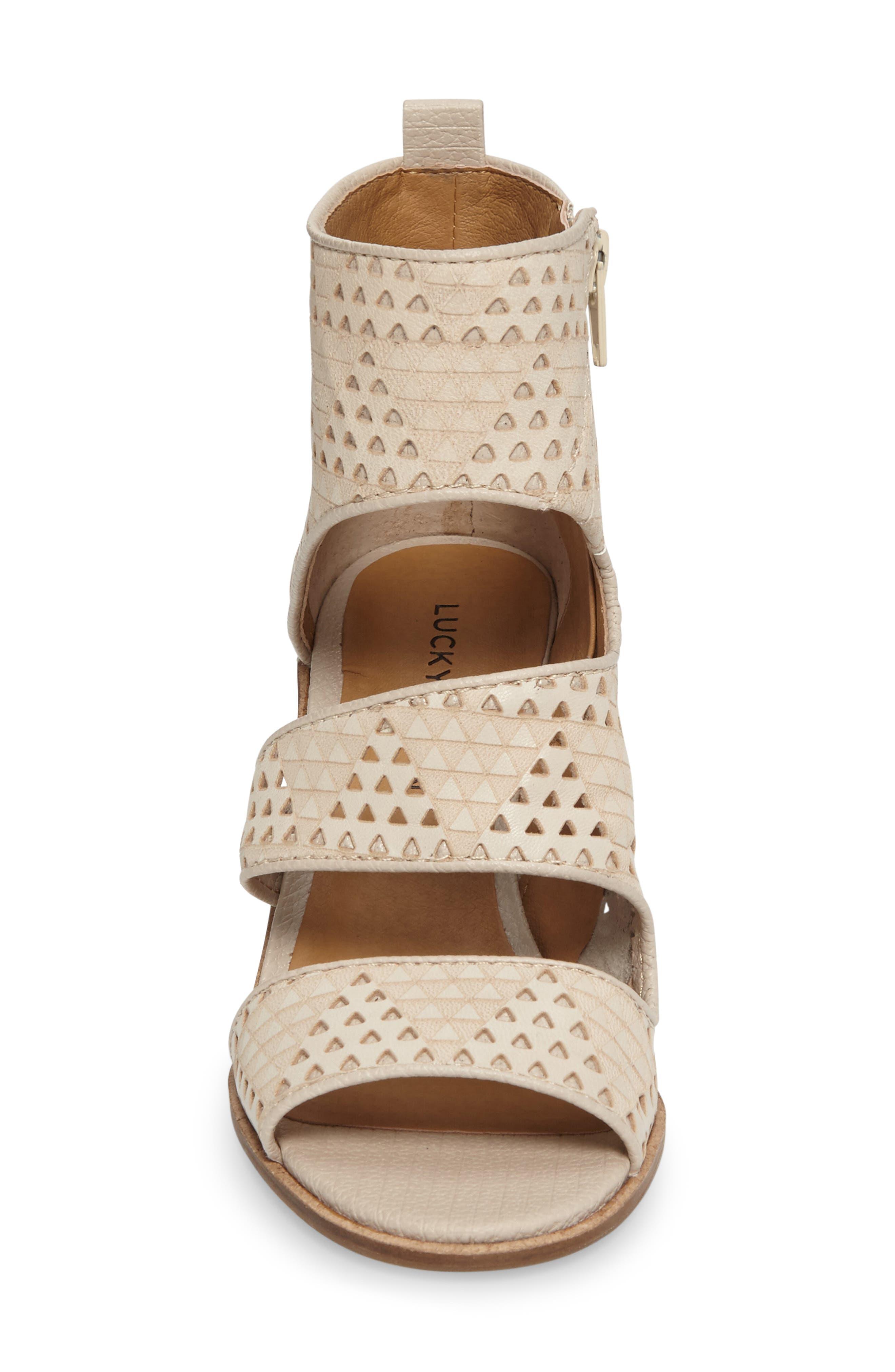 Alternate Image 3  - Lucky Kabott Block Heel Sandal (Women)