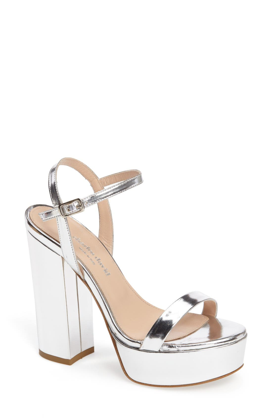 Charles David Retro Platform Sandal (Women)