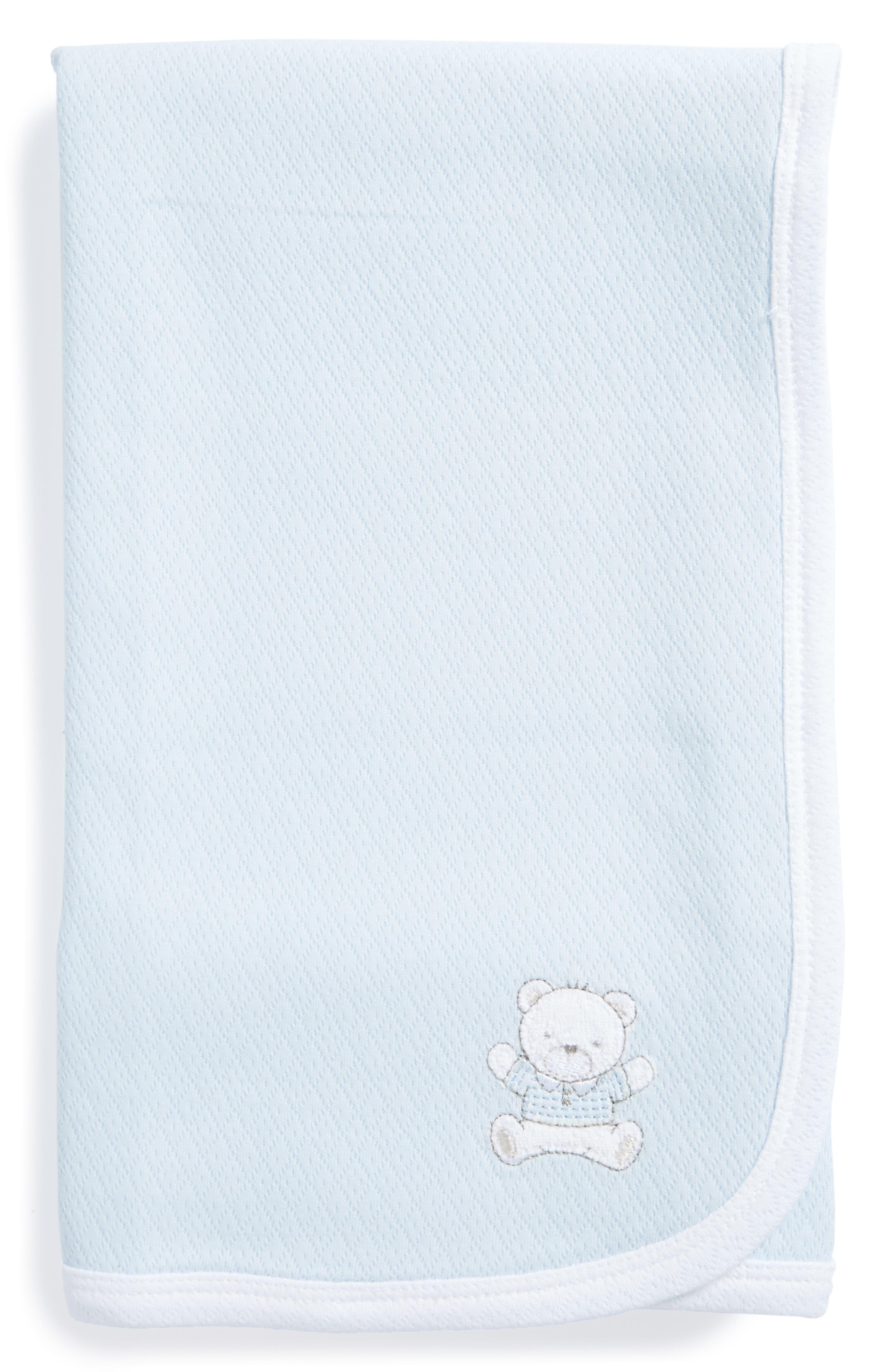 Little Me Bear Receiving Blanket (Nordstrom Exclusive)